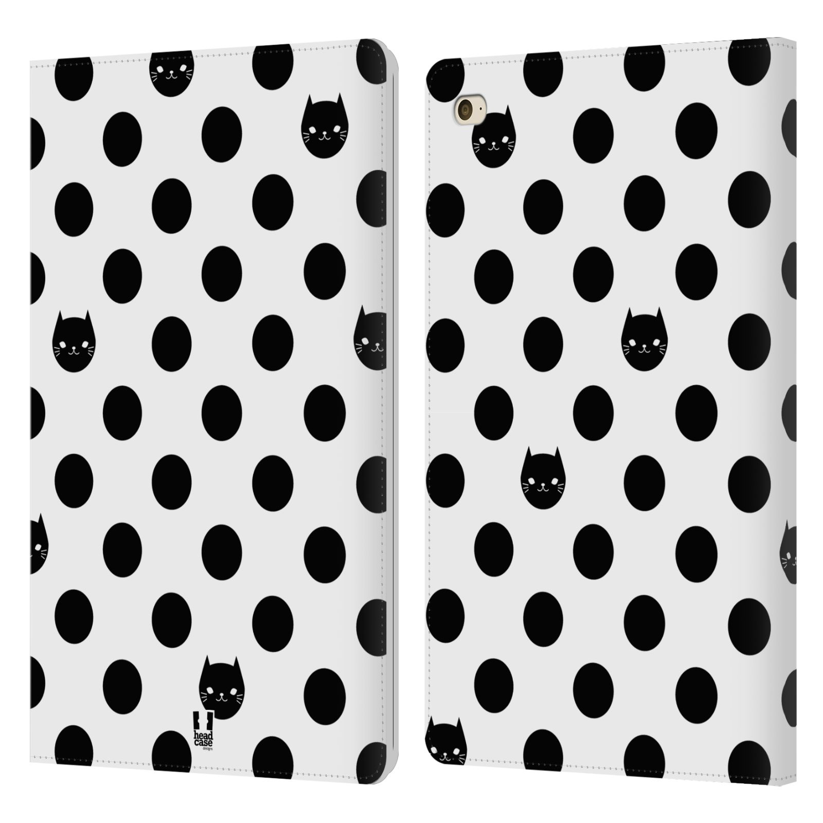 HEAD-CASE-DESIGNS-GATOS-Y-PUNTOS-FUNDA-DE-LIBRO-CUERO-PARA-APPLE-iPAD-MINI-4