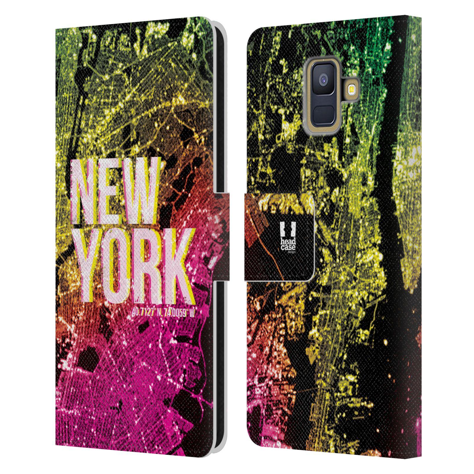 Pouzdro na mobil Samsung Galaxy A6 (A600) - Head Case - NEW YORK pohled z vesmíru