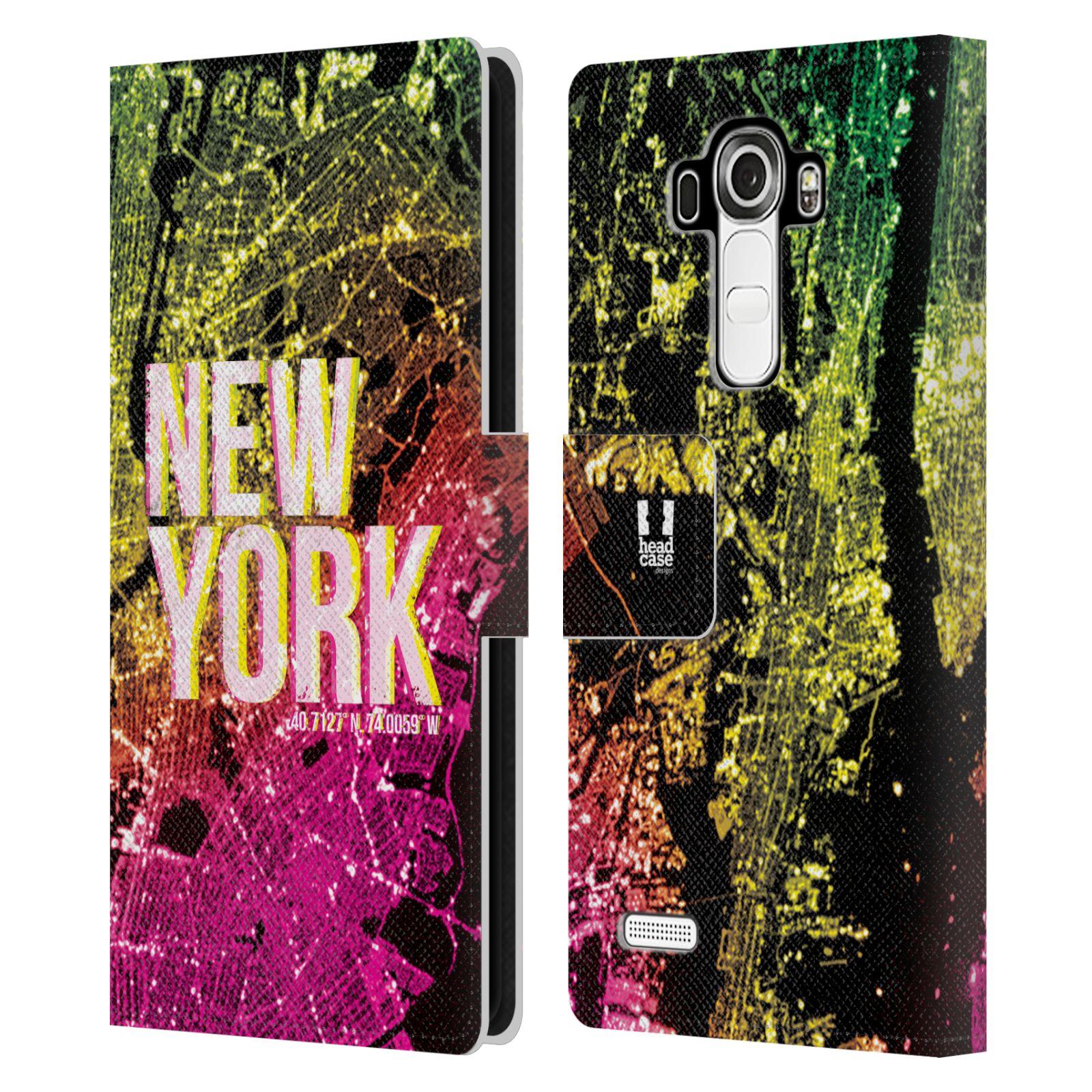 Pouzdro na mobil LG G4 - Head Case - NEW YORK pohled z vesmíru