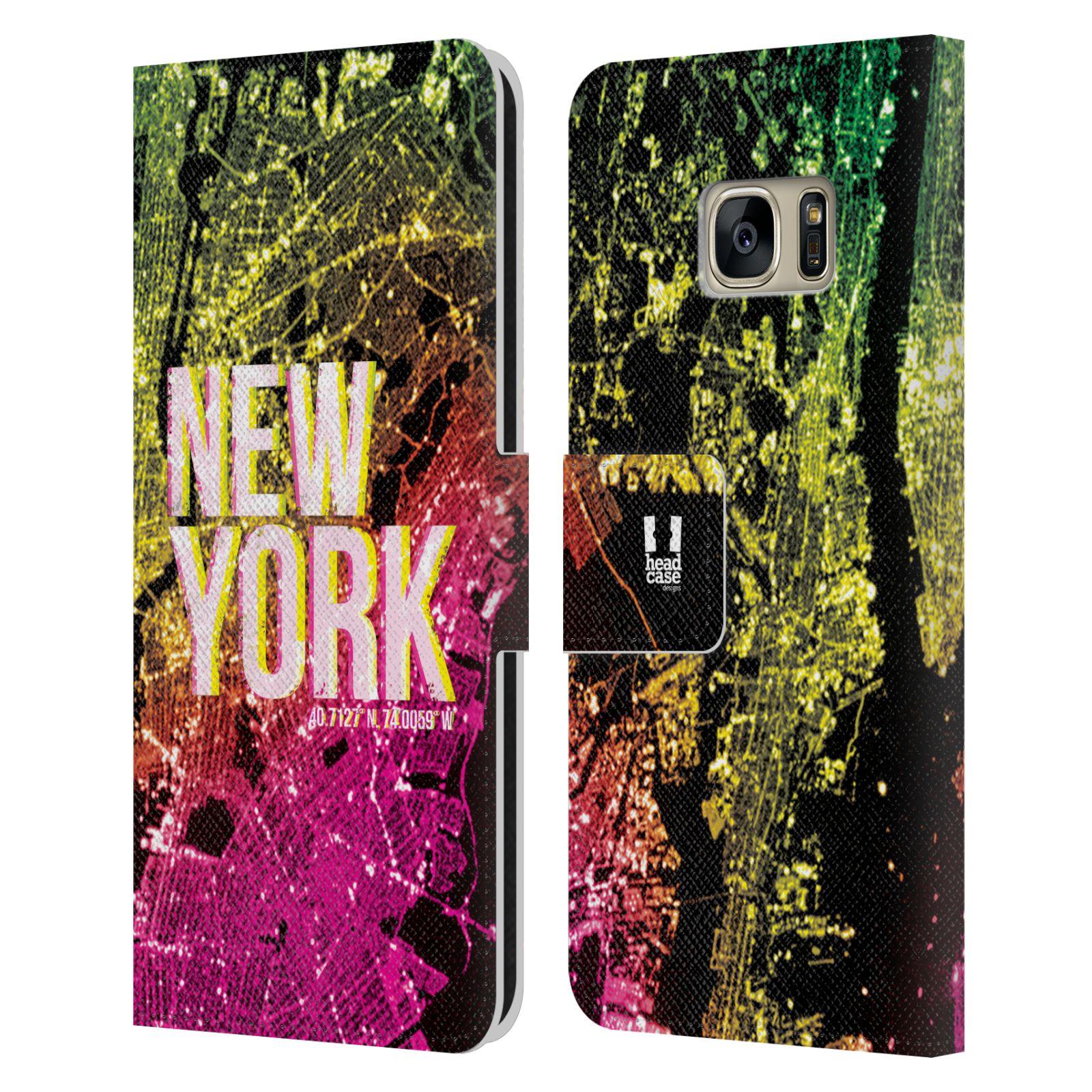 Pouzdro na mobil Samsung Galaxy S7 - Head Case - NEW YORK pohled z vesmíru