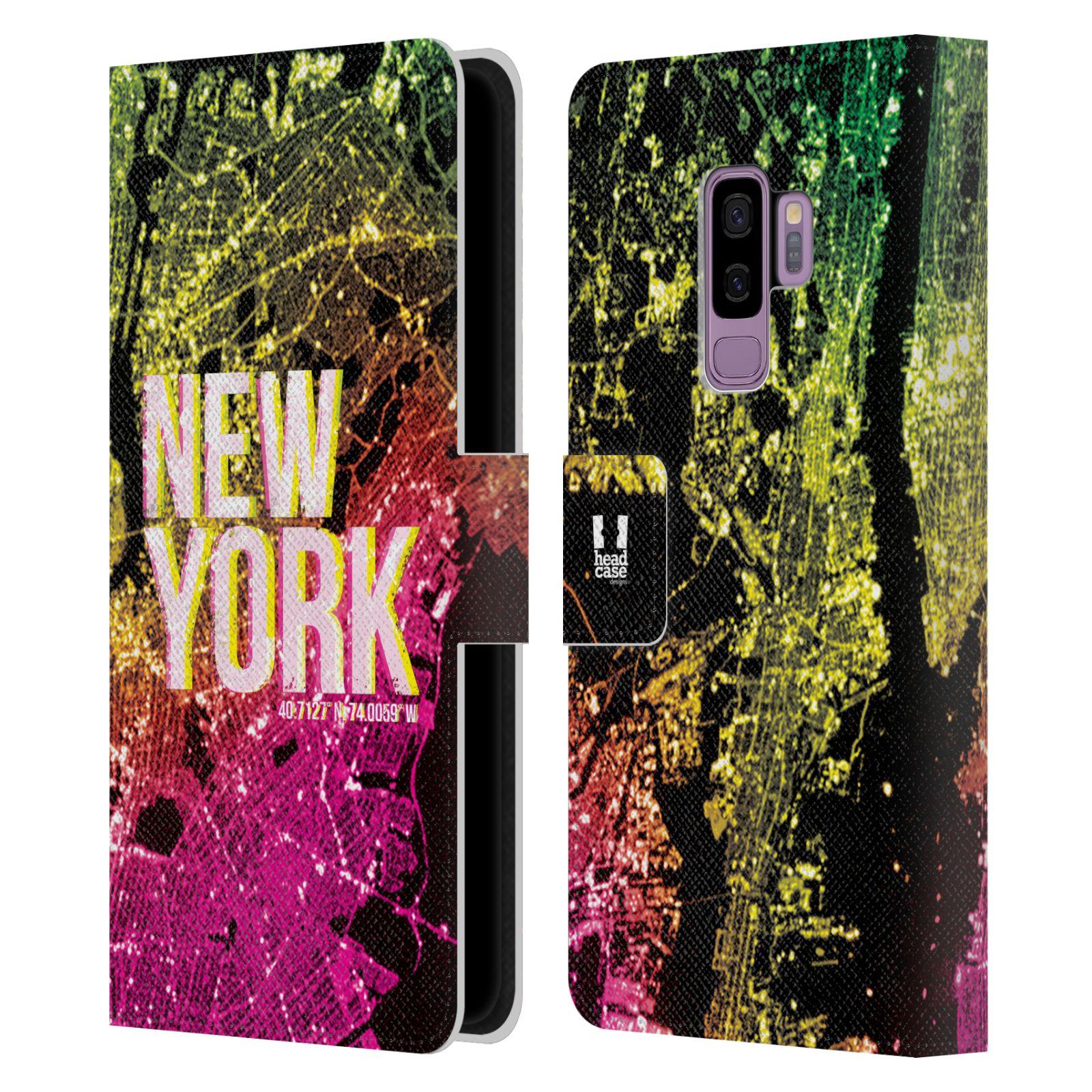 Pouzdro na mobil Samsung Galaxy S9 Plus - Head Case - NEW YORK pohled z vesmíru