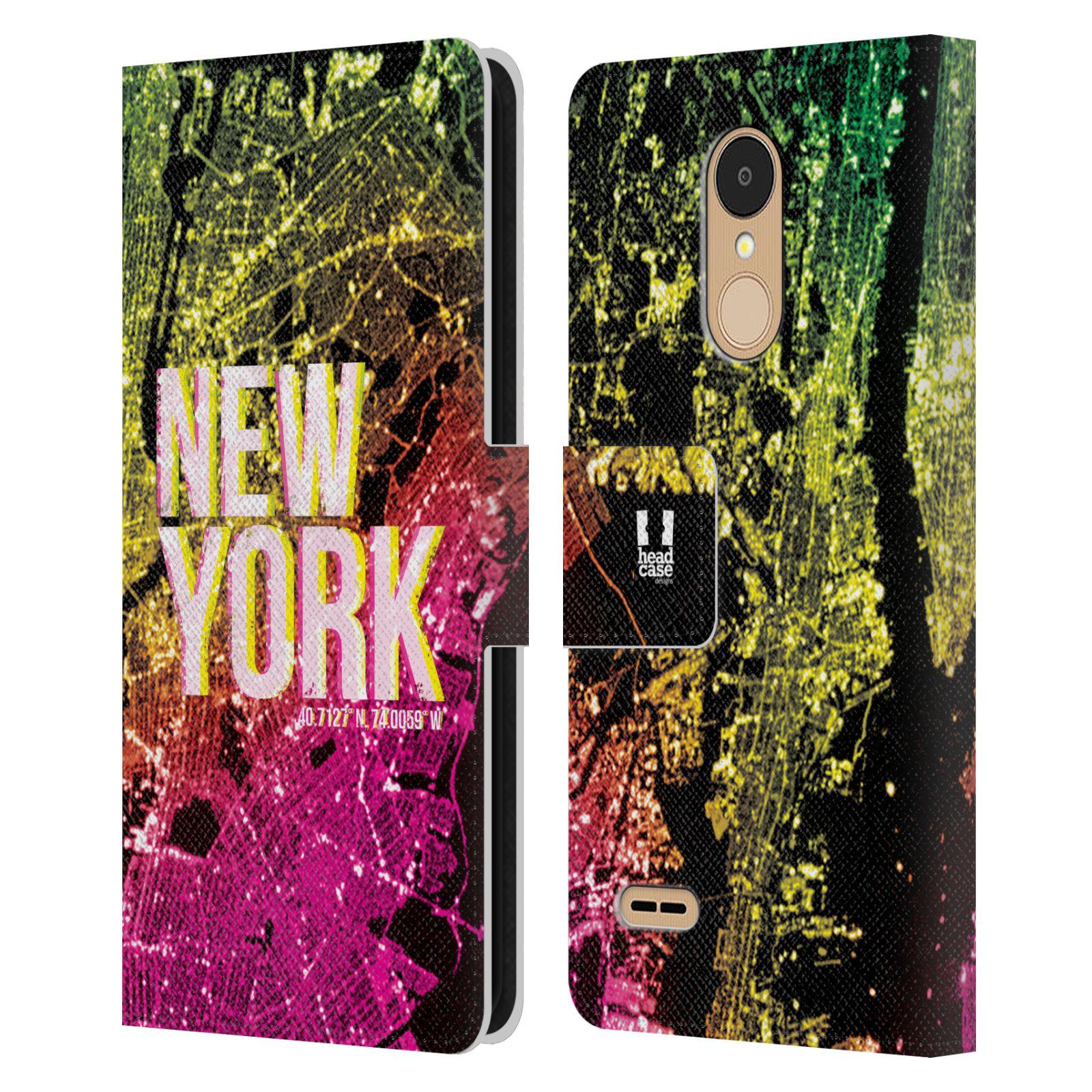 Pouzdro na mobil LG K9 2018 - Head Case - NEW YORK pohled z vesmíru