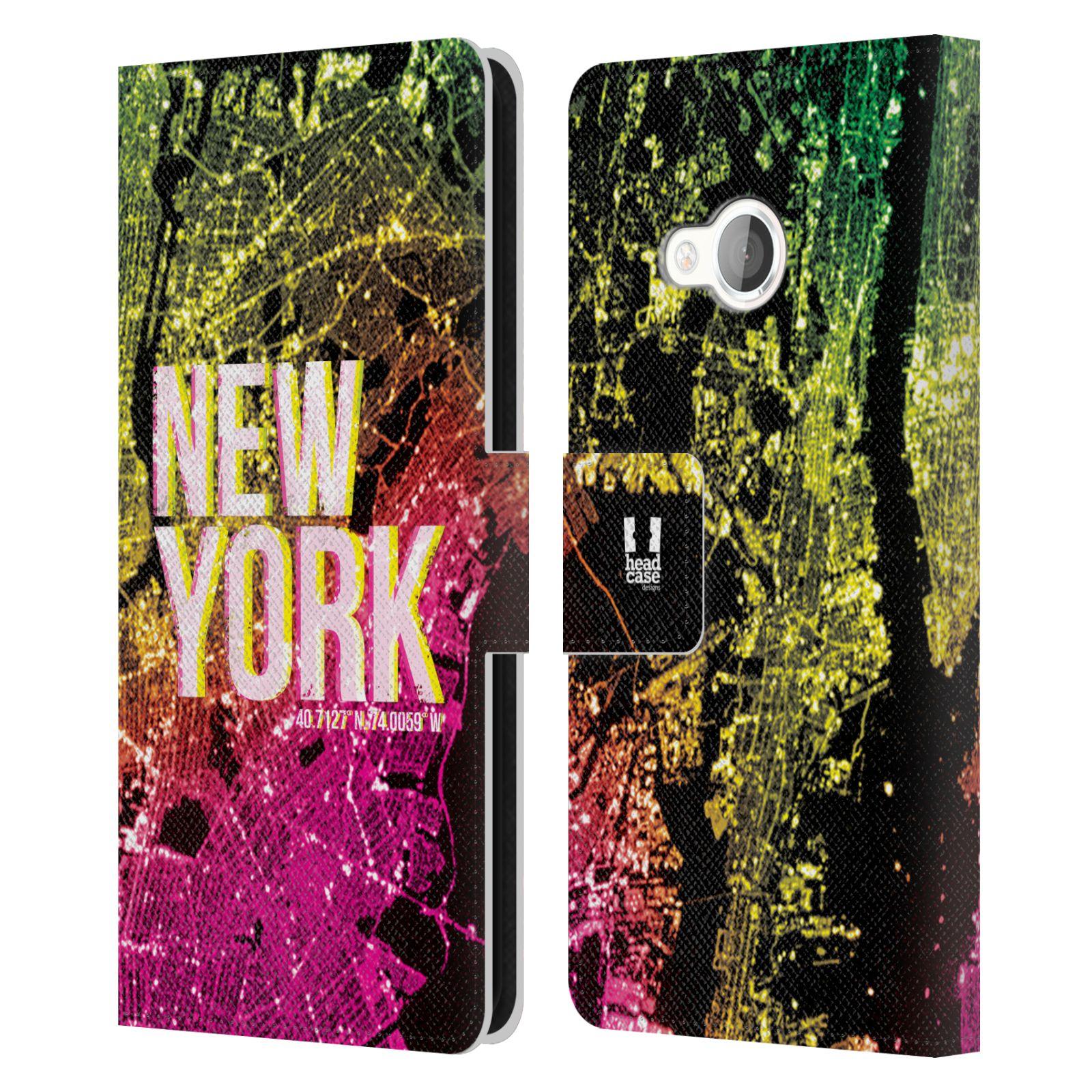Pouzdro na mobil HTC U Play - Head Case - NEW YORK pohled z vesmíru