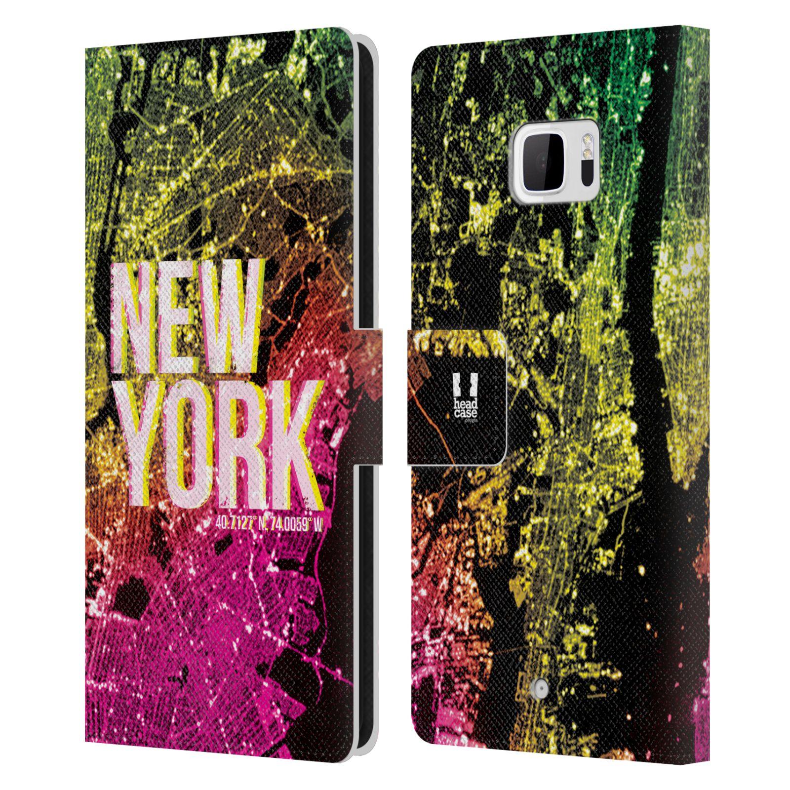 Pouzdro na mobil HTC U Ultra - Head Case - NEW YORK pohled z vesmíru