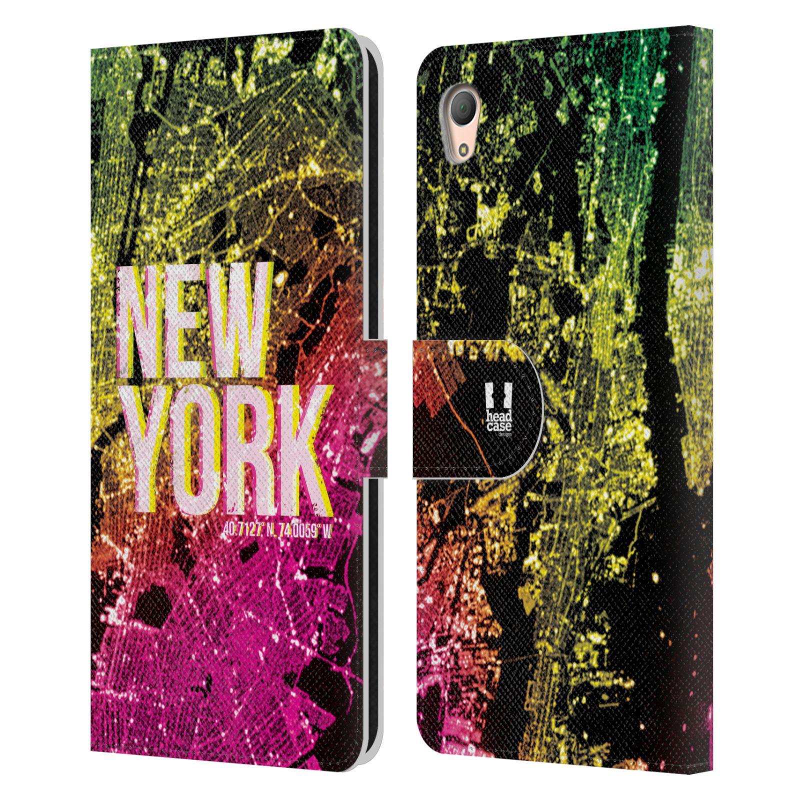 Pouzdro na mobil Sony Xperia Z3 PLUS - Head Case - NEW YORK pohled z vesmíru