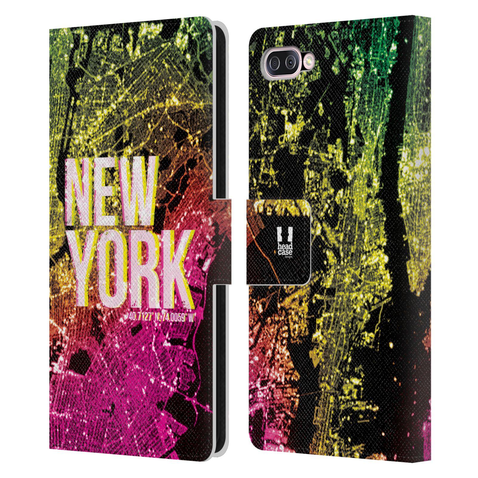 Pouzdro na mobil Asus Zenfone 4 Max ZC554KL - Head Case - NEW YORK pohled z vesmíru