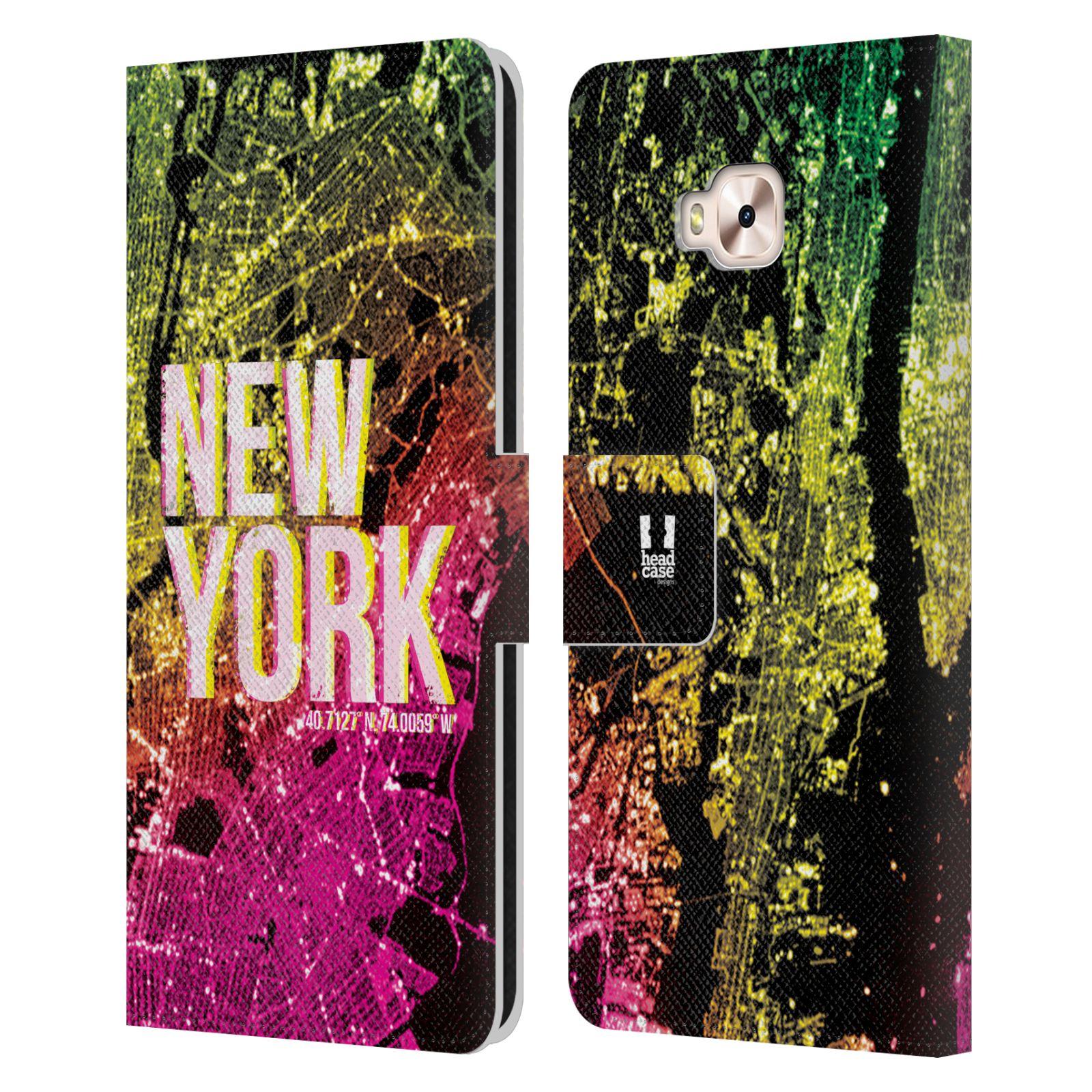 Pouzdro na mobil Asus Zenfone 4 Selfie Pro ZD552KL - Head Case - NEW YORK pohled z vesmíru