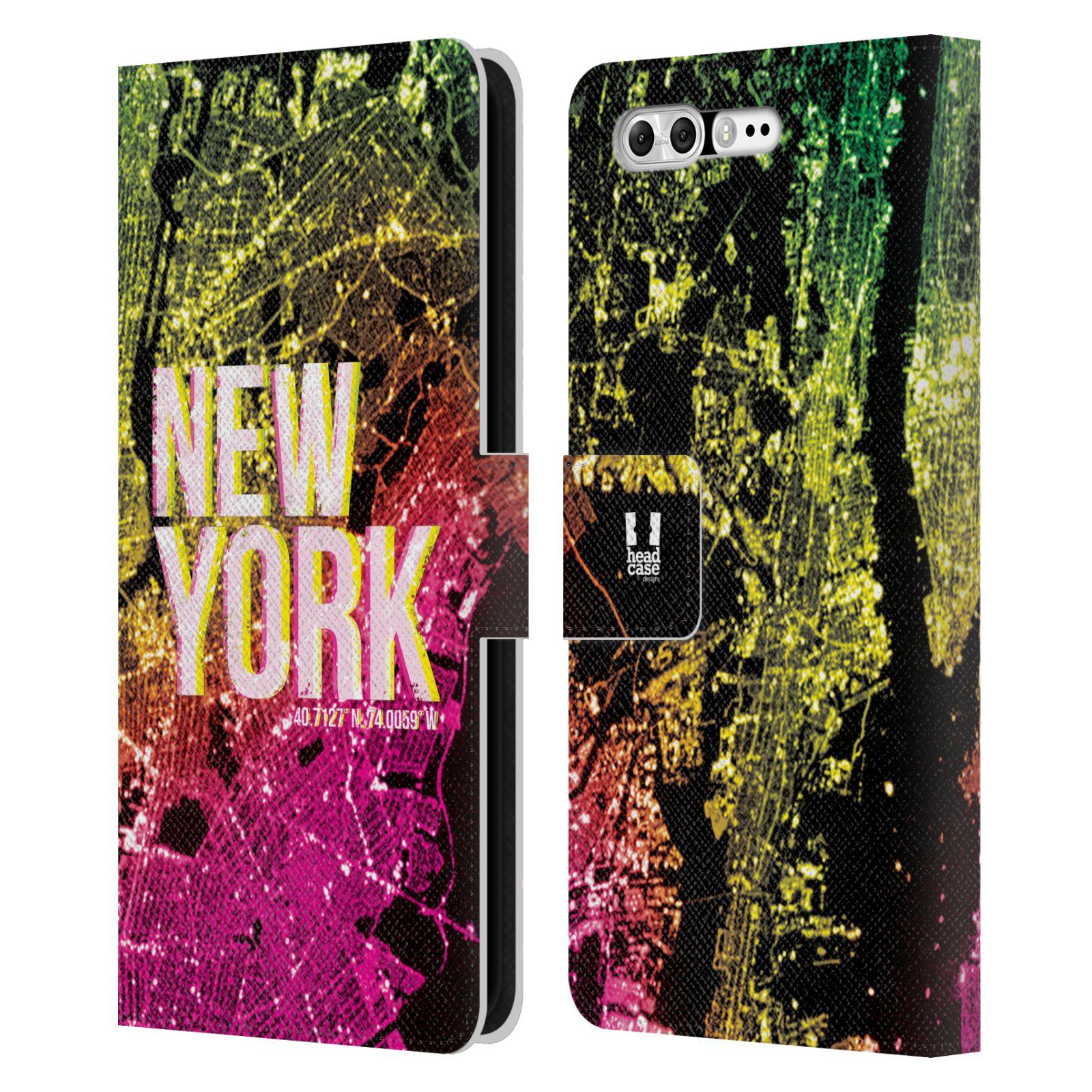 Pouzdro na mobil Asus Zenfone 4 Pro ZS551KL - Head Case - NEW YORK pohled z vesmíru