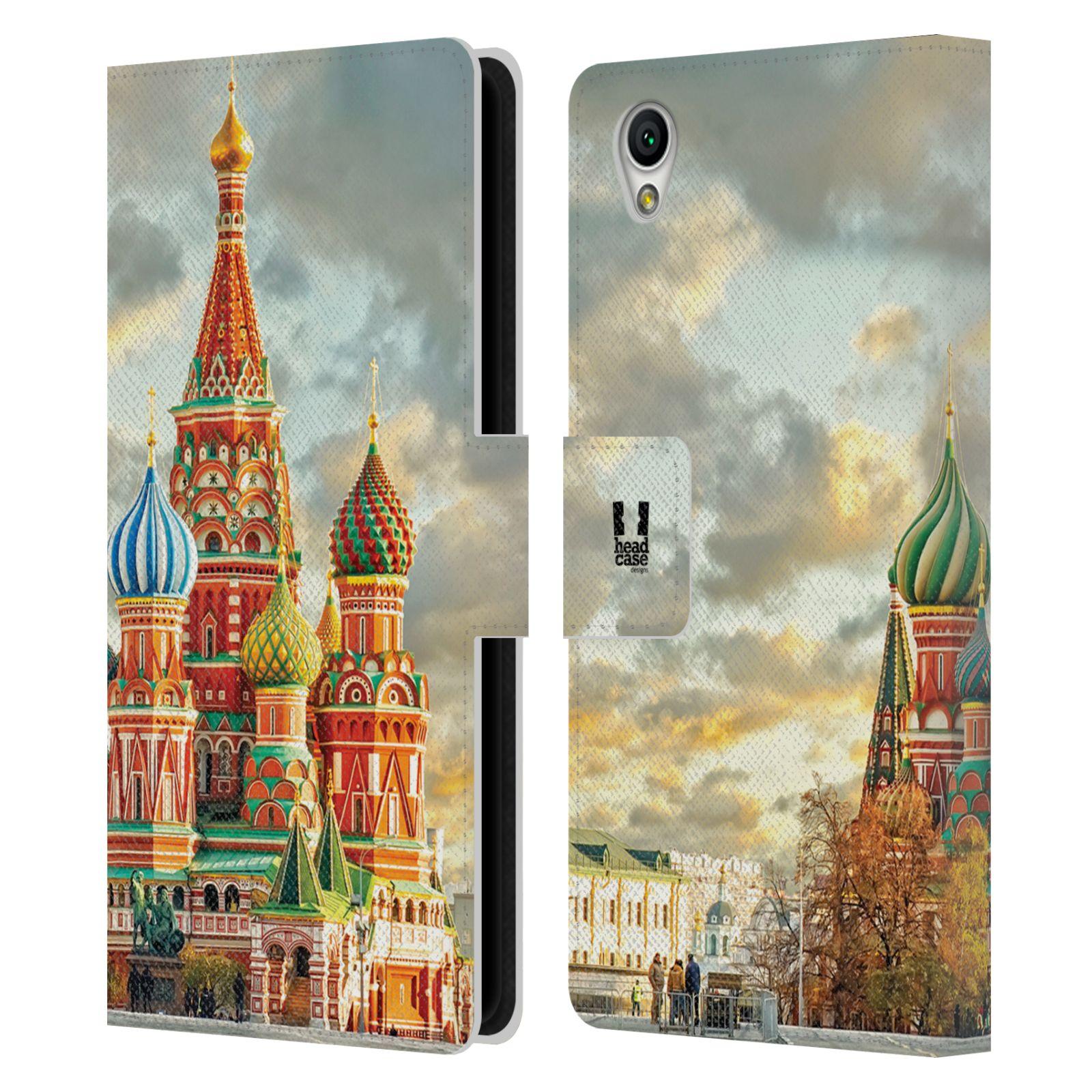 Pouzdro na mobil Sony Xperia L1 - Head Case - Rusko Moskva Chrám Vasila Blaženého