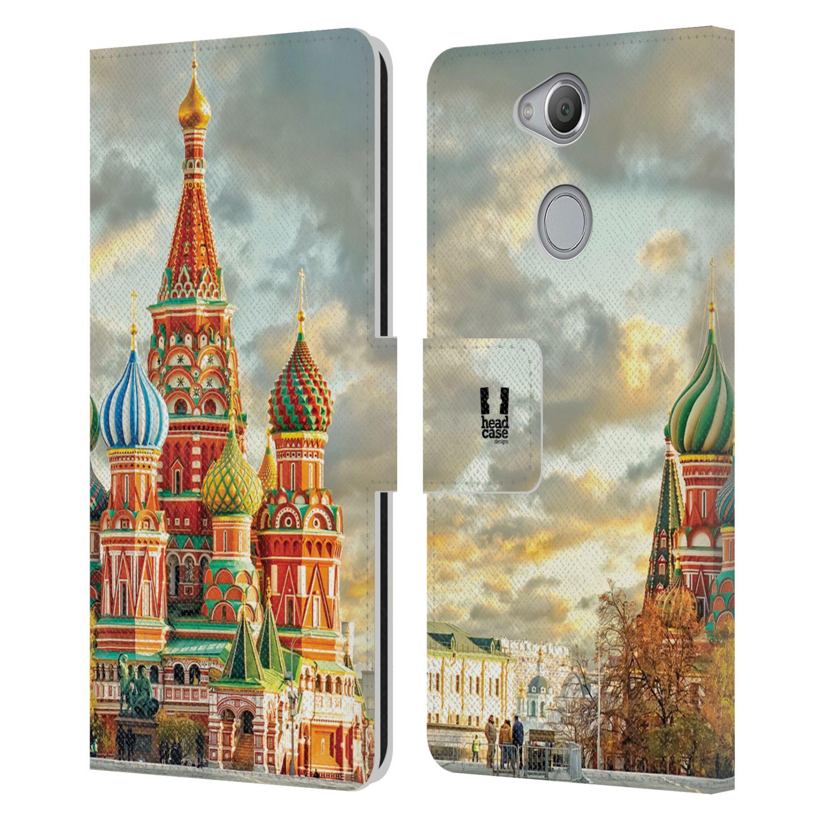 Pouzdro na mobil Sony Xperia XA2 - Head Case - Rusko Moskva Chrám Vasila Blaženého