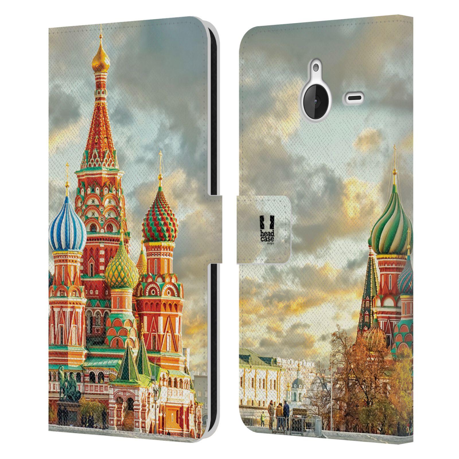 Pouzdro na mobil Nokia Lumia 640 XL - Head Case - Rusko Moskva Chrám Vasila Blaženého
