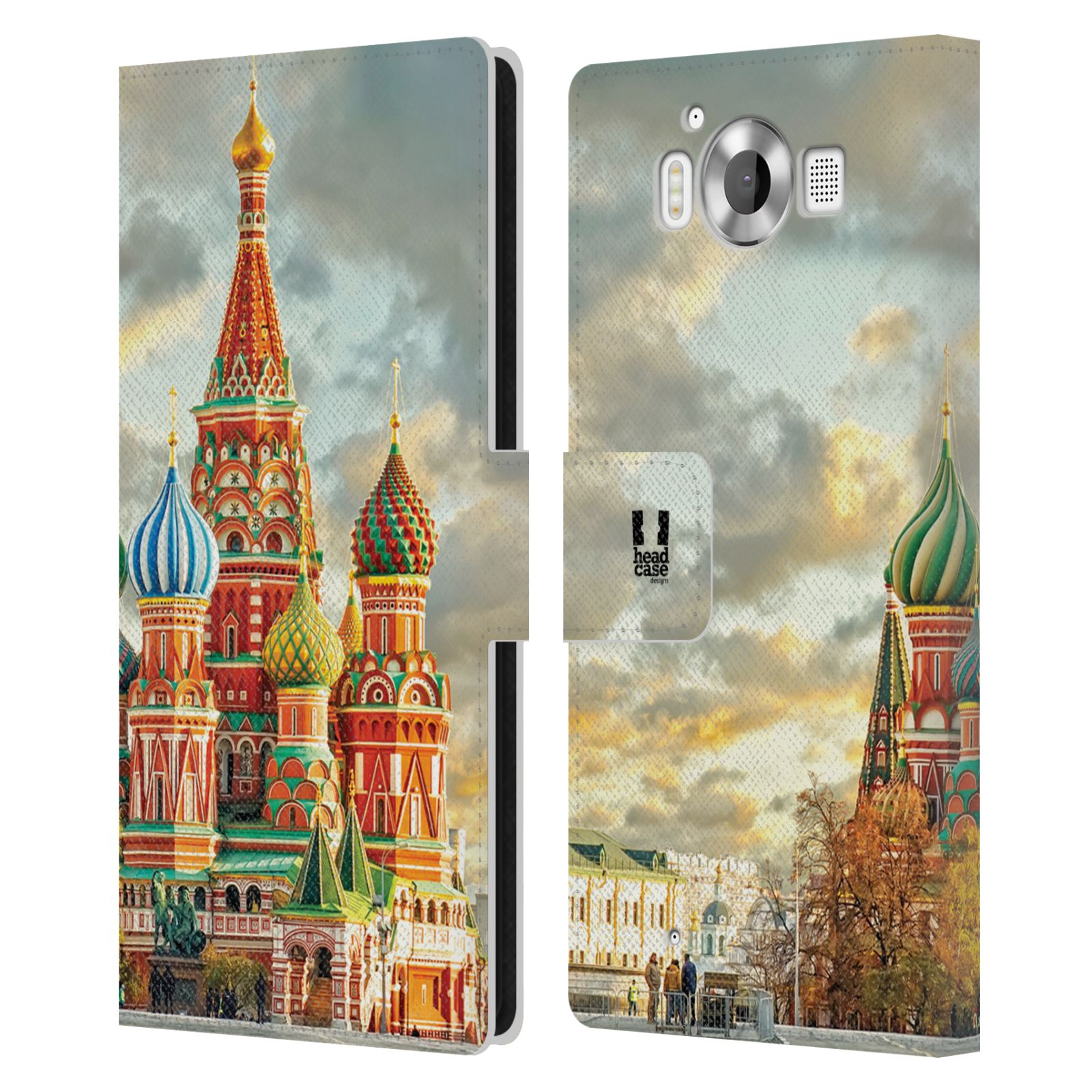Pouzdro na mobil Nokia Lumia 950 - Head Case - Rusko Moskva Chrám Vasila Blaženého