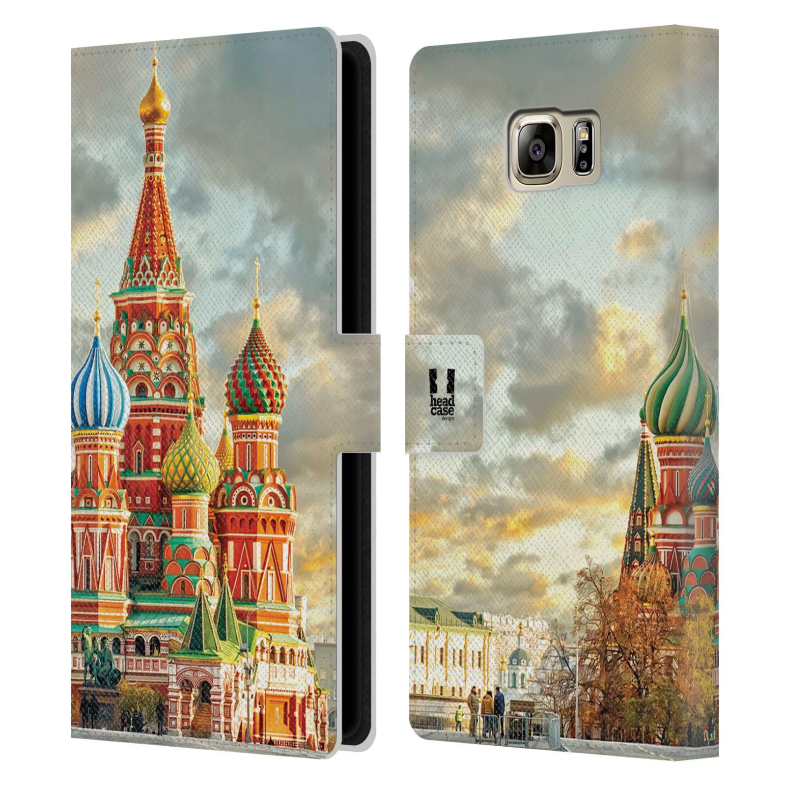 Pouzdro na mobil Samsung Galaxy NOTE 5 - Head Case - Rusko Moskva Chrám Vasila Blaženého