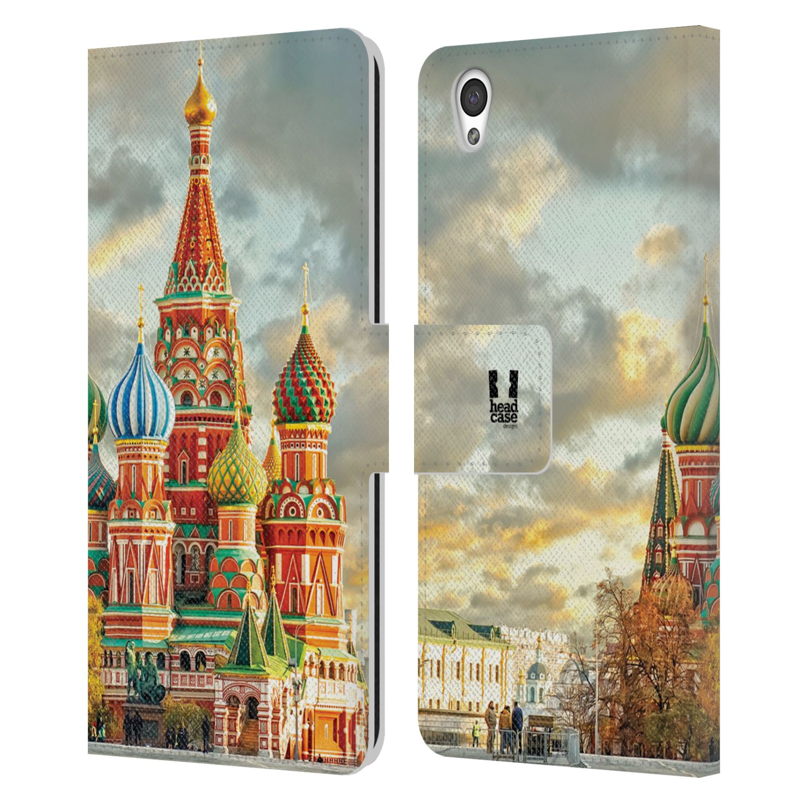 Pouzdro na mobil OnePlus X - Head Case - Rusko Moskva Chrám Vasila Blaženého