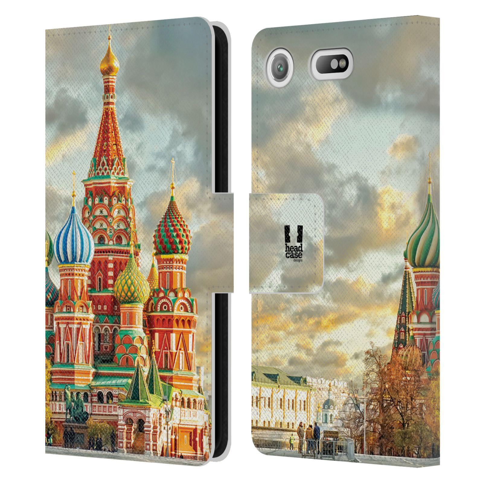 Pouzdro na mobil Sony Xperia XZ1 Compact - Head Case - Rusko Moskva Chrám Vasila Blaženého