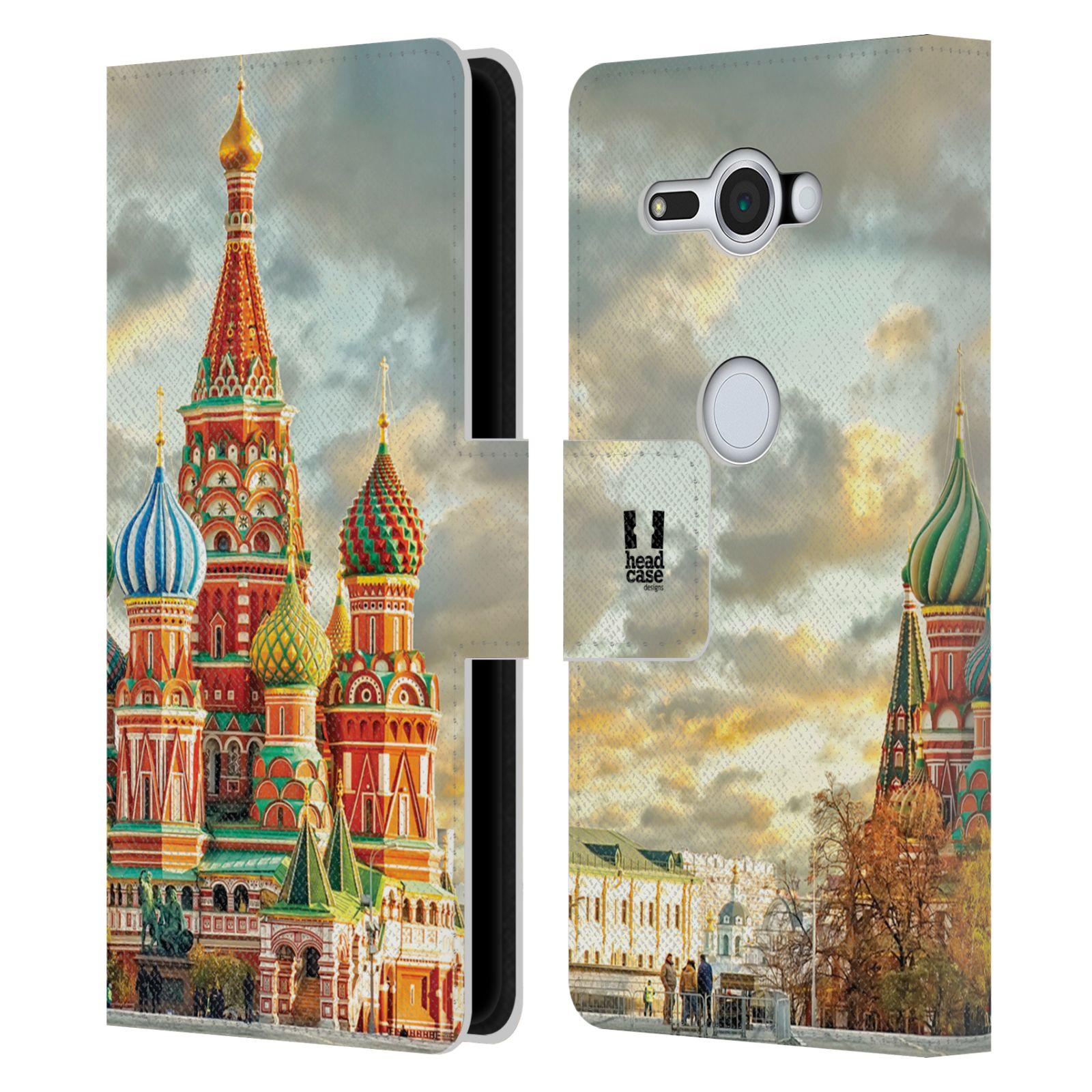 Pouzdro na mobil Sony Xperia XZ2 Compact - Head Case - Rusko Moskva Chrám Vasila Blaženého