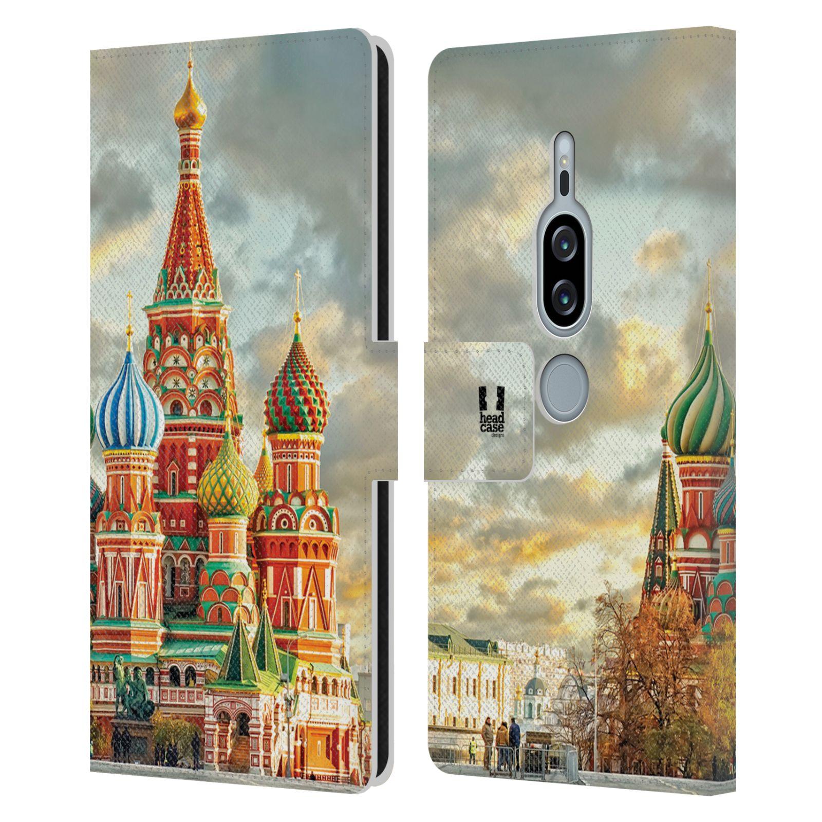 Pouzdro na mobil Sony Xperia XZ2 Premium - Head Case - Rusko Moskva Chrám Vasila Blaženého