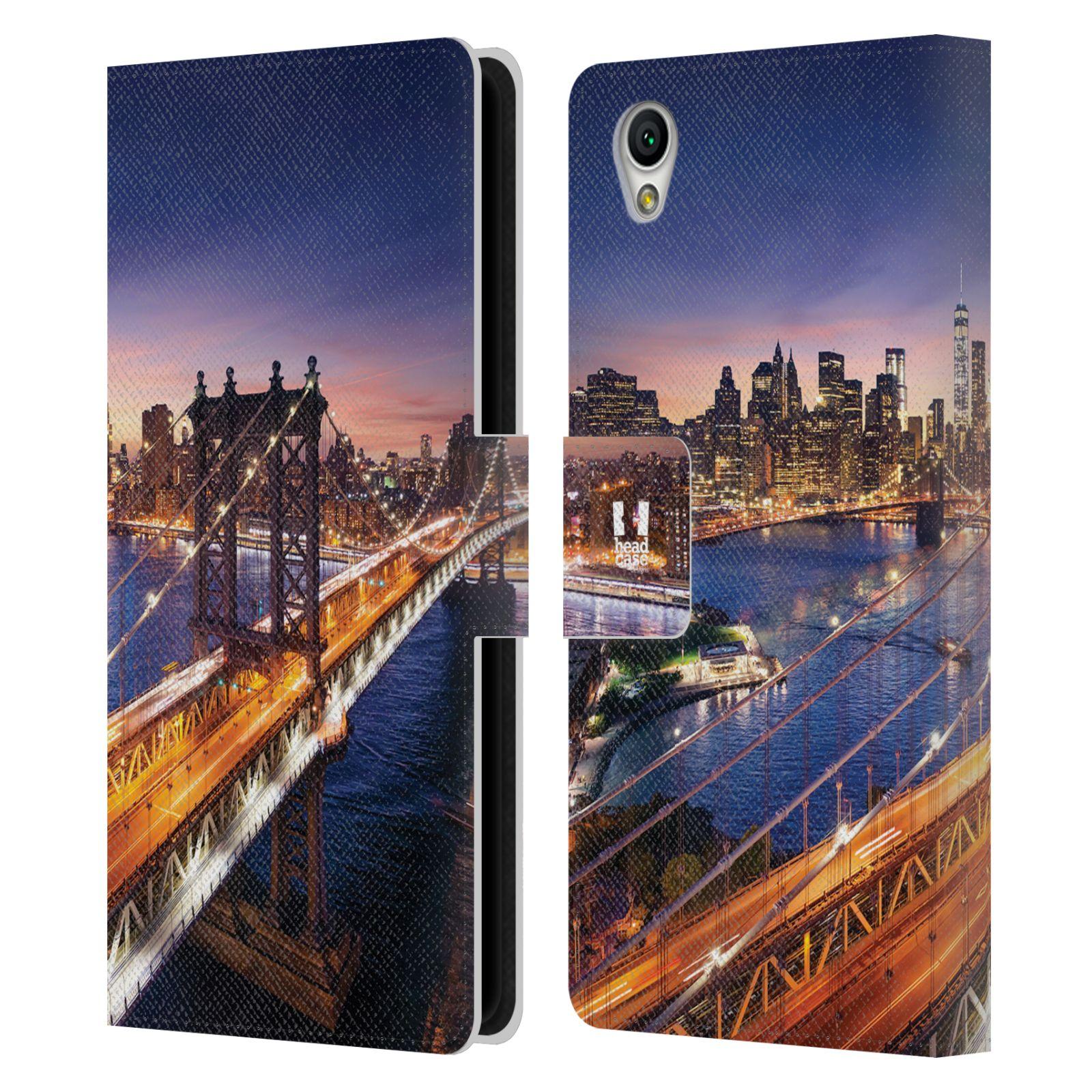 Pouzdro na mobil Sony Xperia L1 - Head Case - New York Brooklynský most