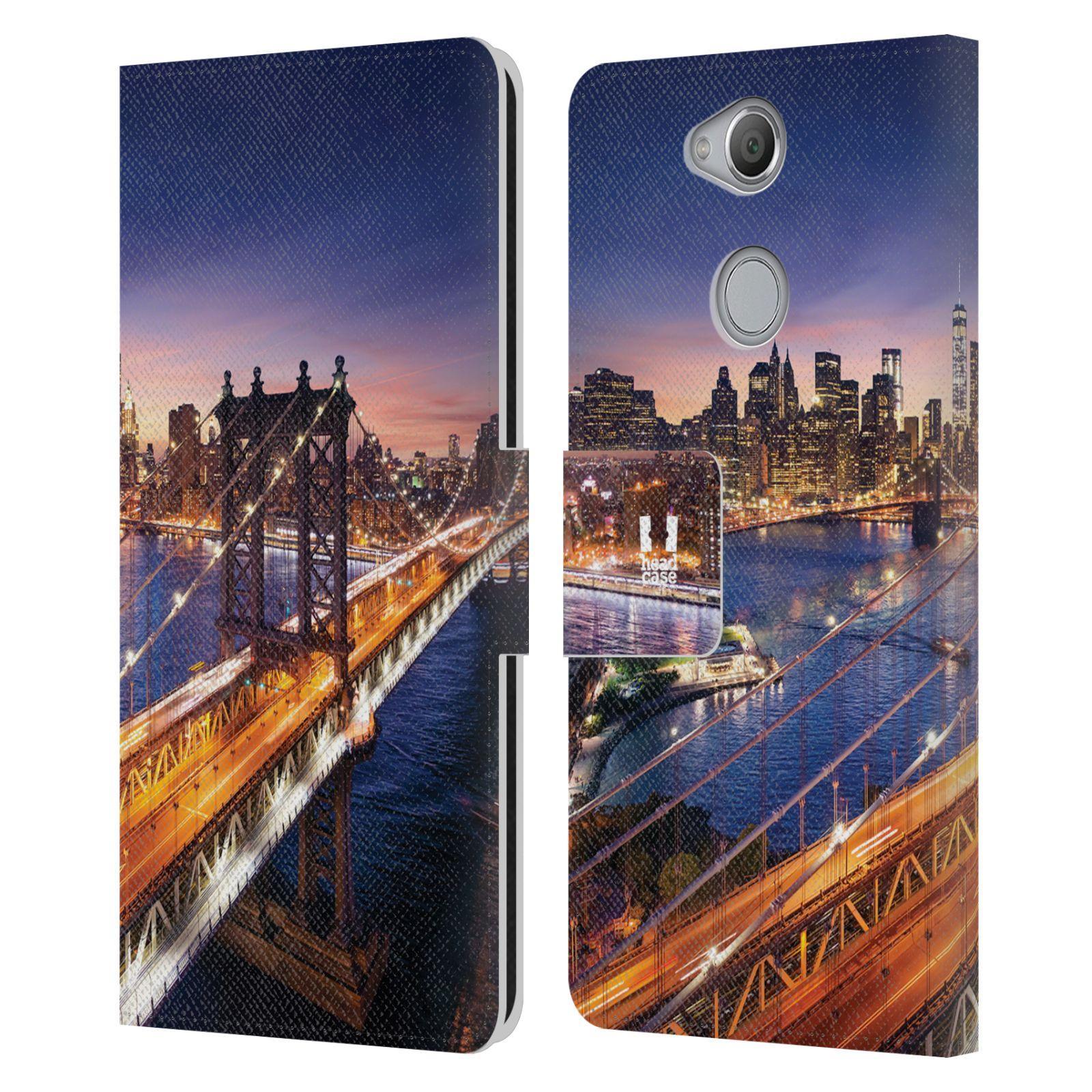 Pouzdro na mobil Sony Xperia XA2 - Head Case - New York Brooklynský most