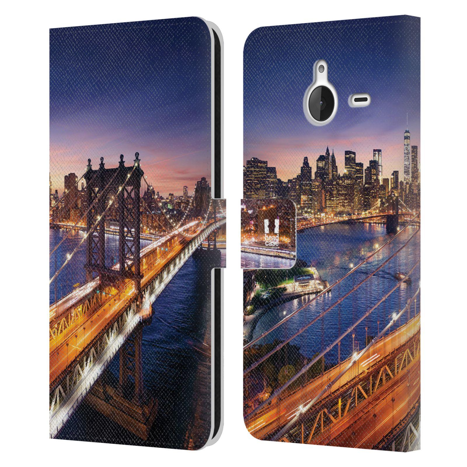 Pouzdro na mobil Nokia Lumia 640 XL - Head Case - New York Brooklynský most