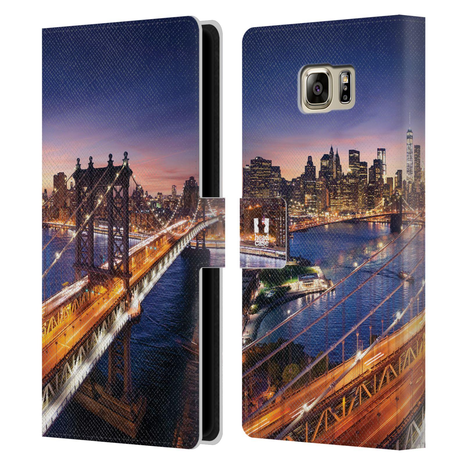 Pouzdro na mobil Samsung Galaxy NOTE 5 - Head Case - New York Brooklynský most