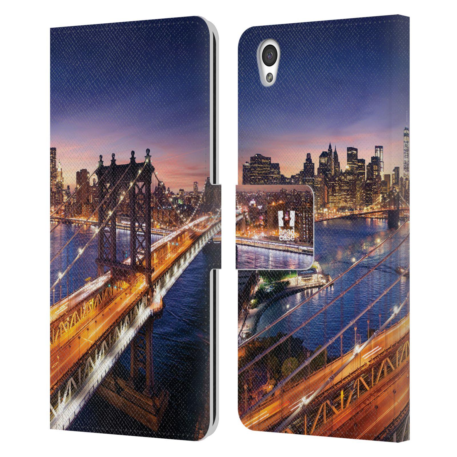 Pouzdro na mobil OnePlus X - Head Case - New York Brooklynský most