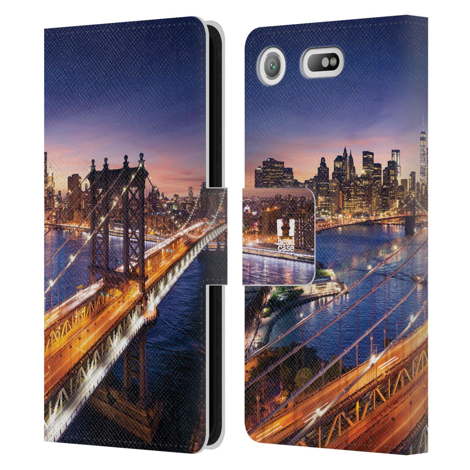 Pouzdro na mobil Sony Xperia XZ1 Compact - Head Case - New York Brooklynský most