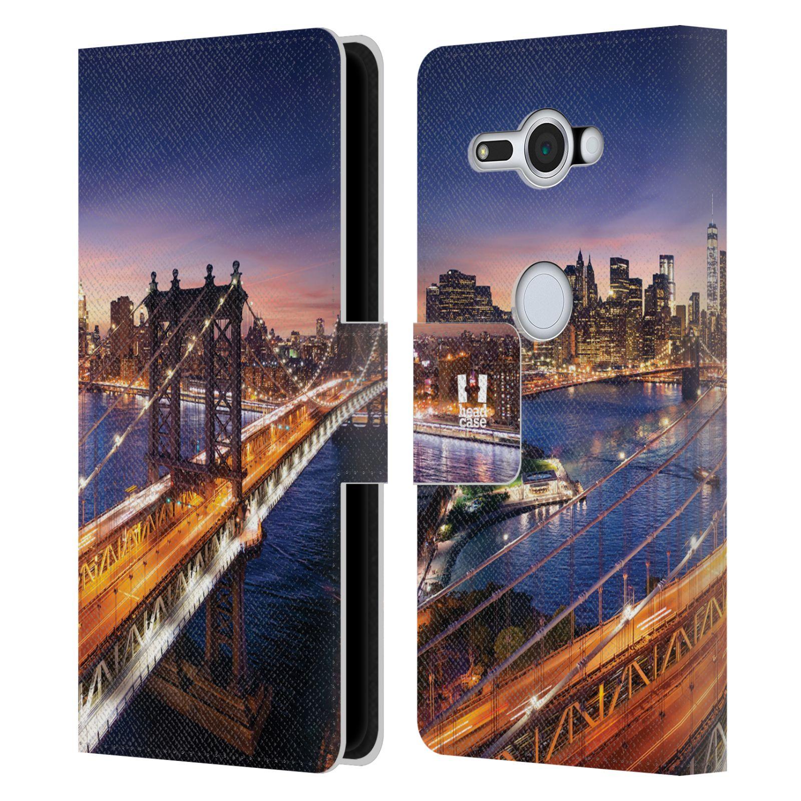 Pouzdro na mobil Sony Xperia XZ2 Compact - Head Case - New York Brooklynský most