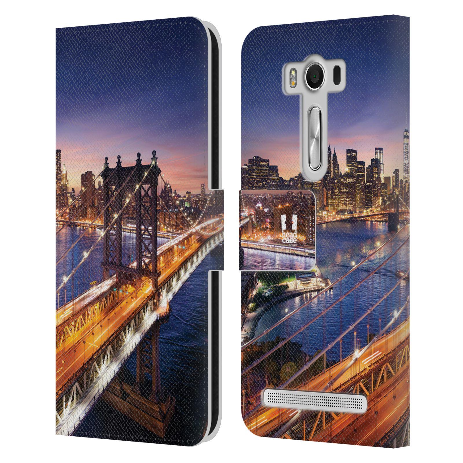 Pouzdro na mobil Asus Zenfone 2 Laser ZE500KL - Head Case - New York Brooklynský most