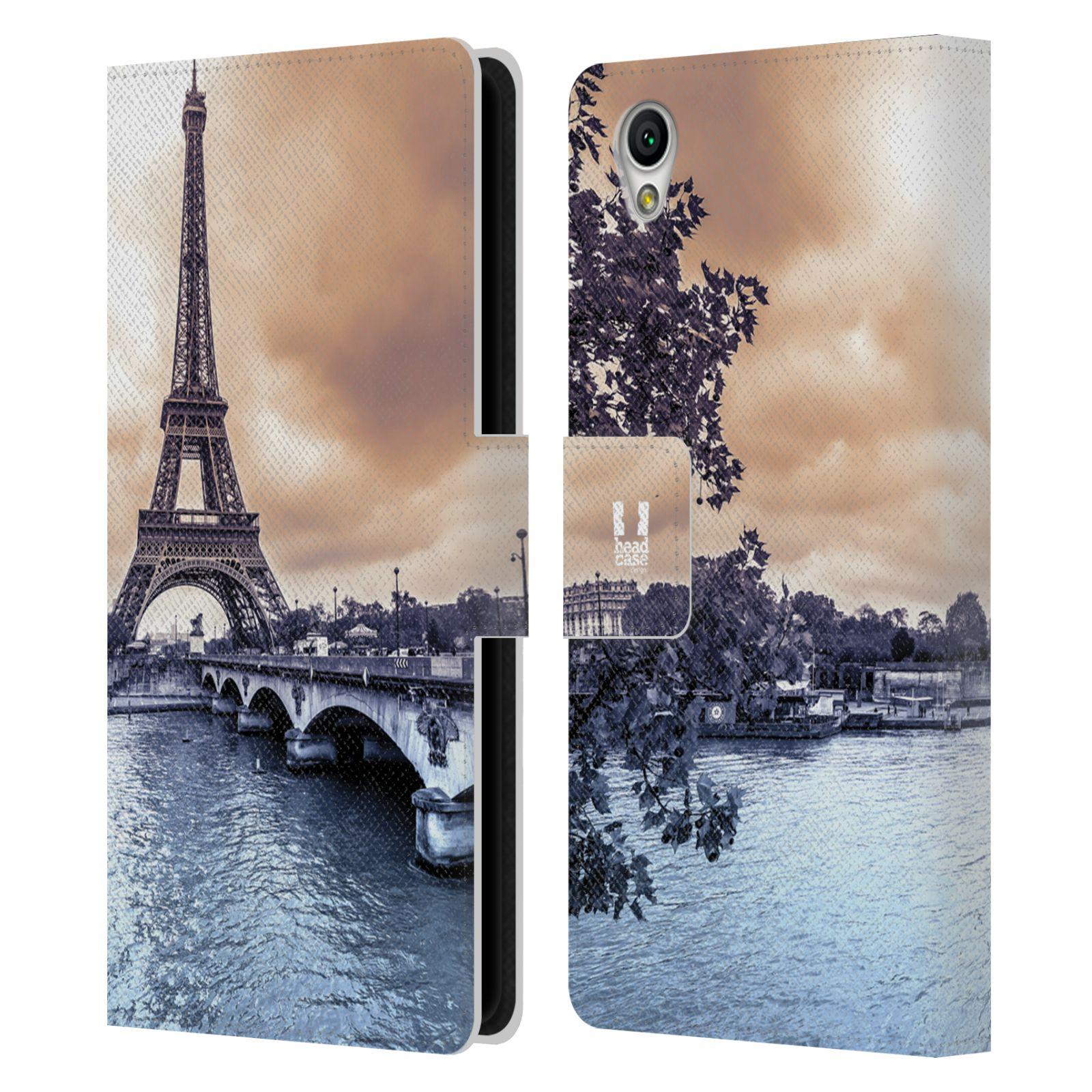 Pouzdro na mobil Sony Xperia L1 - Head Case - Paříž Eiffelova věž
