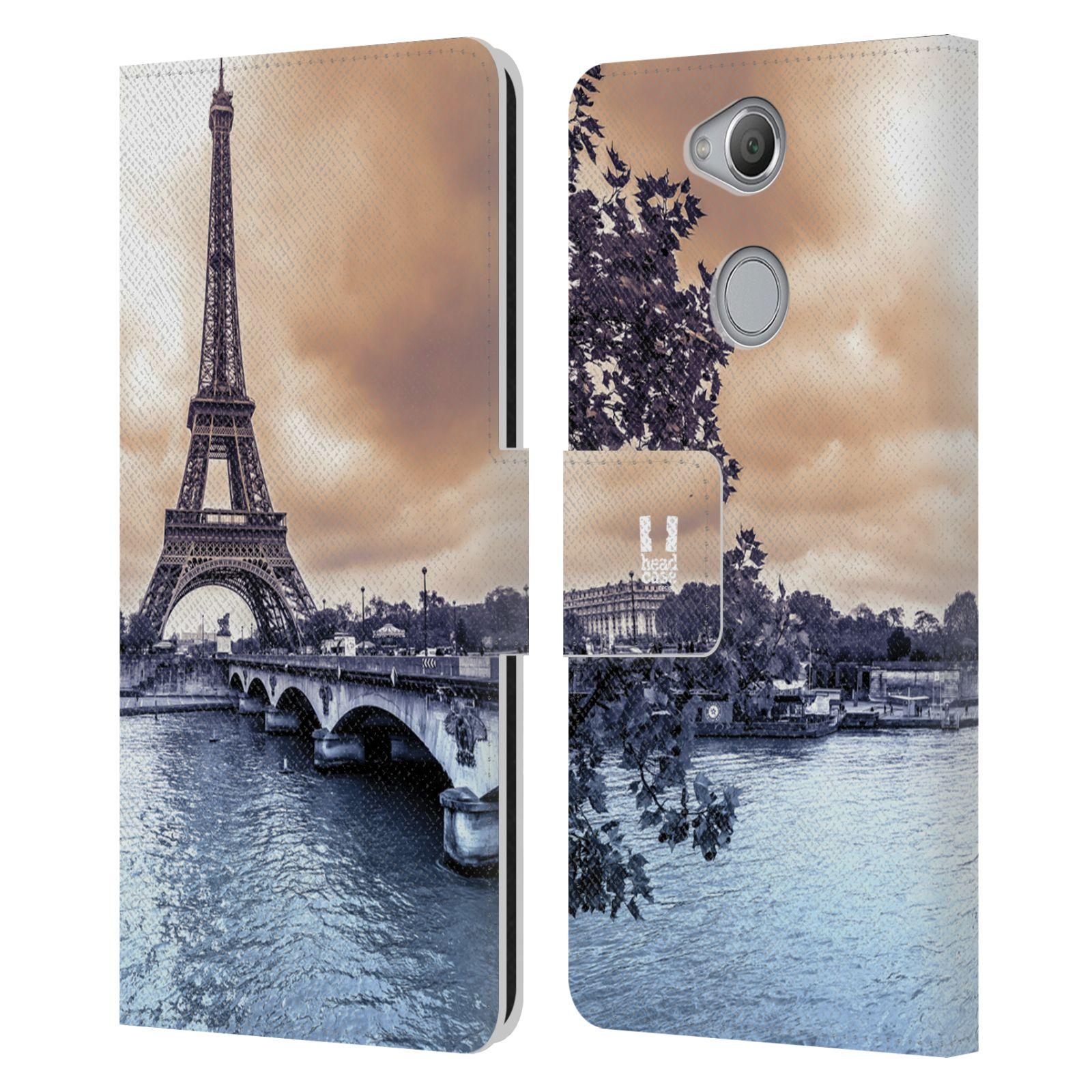 Pouzdro na mobil Sony Xperia XA2 - Head Case - Paříž Eiffelova věž