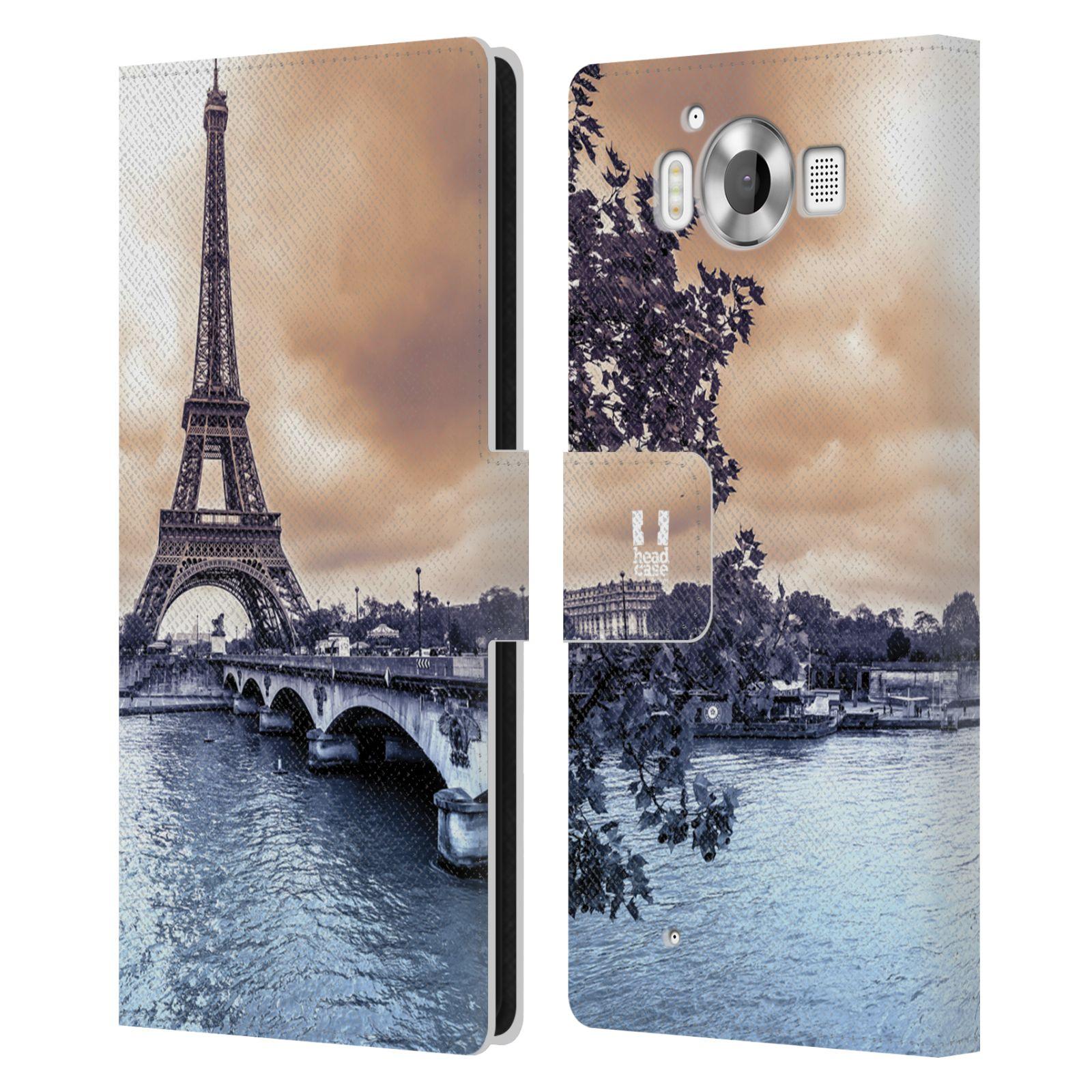 Pouzdro na mobil Nokia Lumia 950 - Head Case - Paříž Eiffelova věž