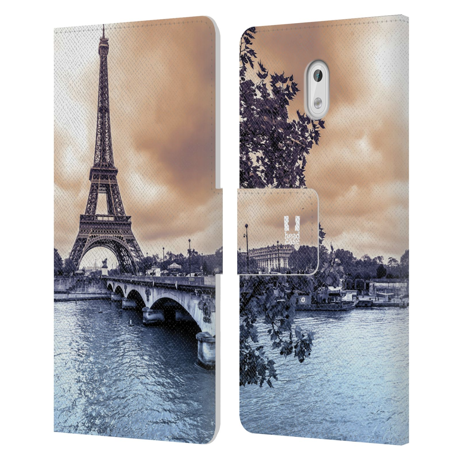 Pouzdro na mobil Nokia 3 - Head Case - Paříž Eiffelova věž