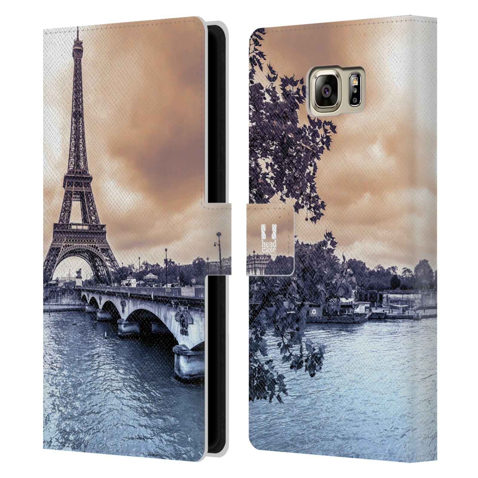 Pouzdro na mobil Samsung Galaxy NOTE 5 - Head Case - Paříž Eiffelova věž