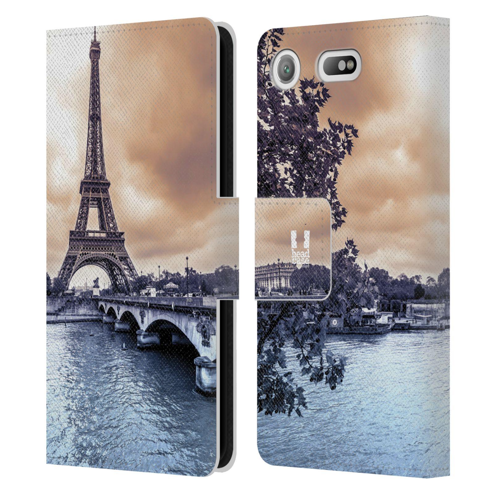 Pouzdro na mobil Sony Xperia XZ1 Compact - Head Case - Paříž Eiffelova věž