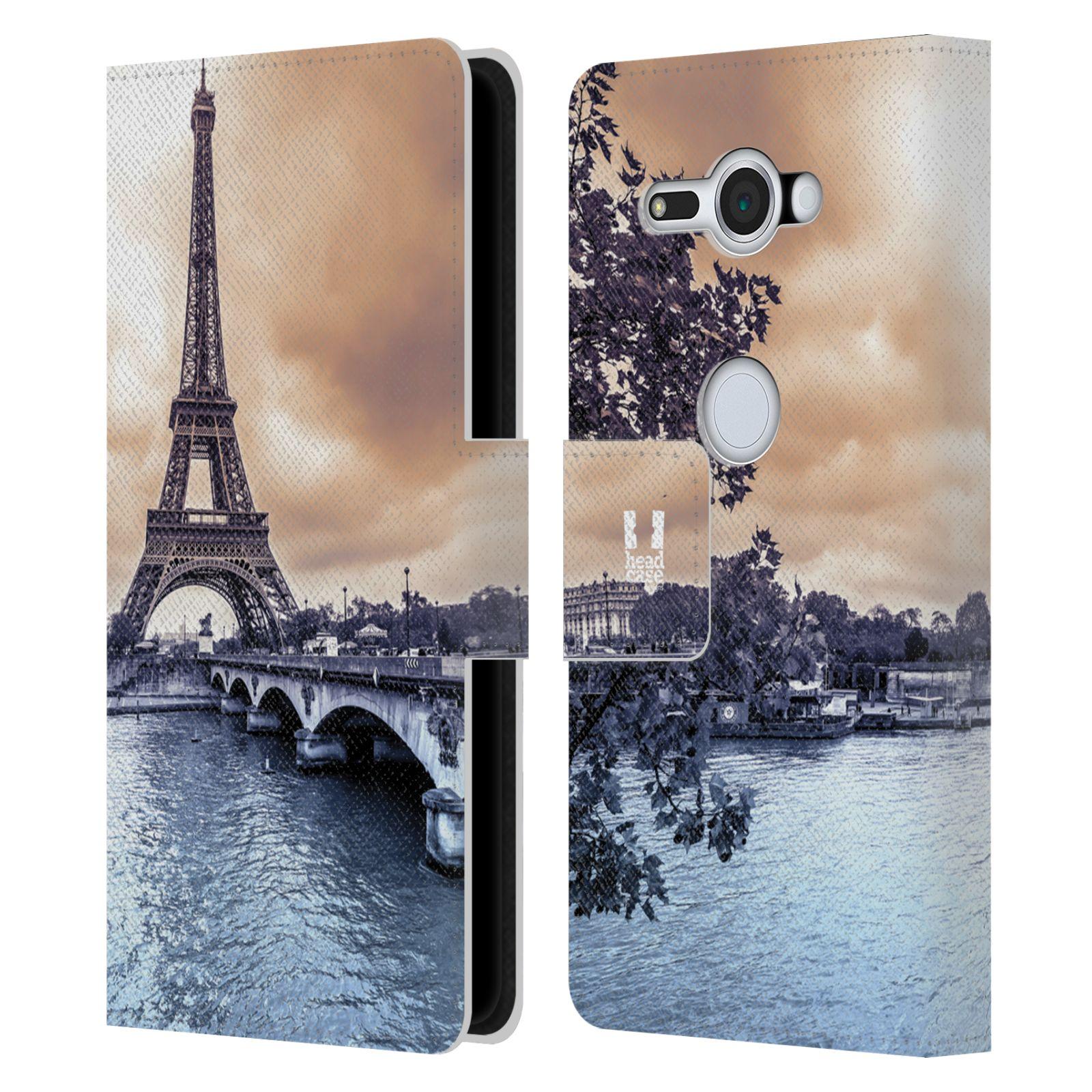 Pouzdro na mobil Sony Xperia XZ2 Compact - Head Case - Paříž Eiffelova věž