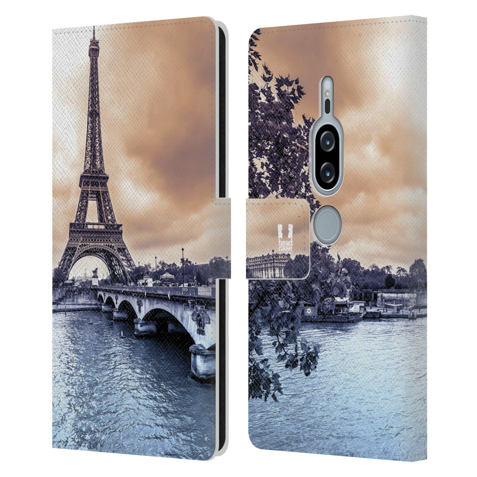 Pouzdro na mobil Sony Xperia XZ2 Premium - Head Case - Paříž Eiffelova věž