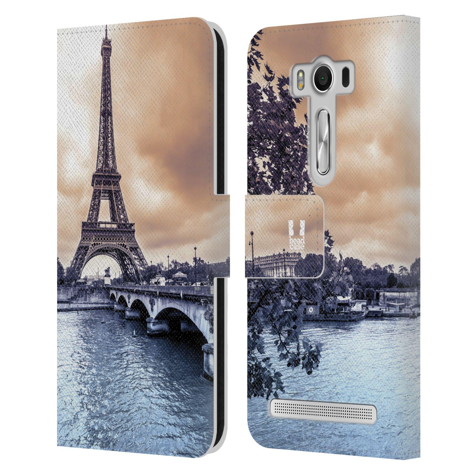 Pouzdro na mobil Asus Zenfone 2 Laser ZE500KL - Head Case - Paříž Eiffelova věž