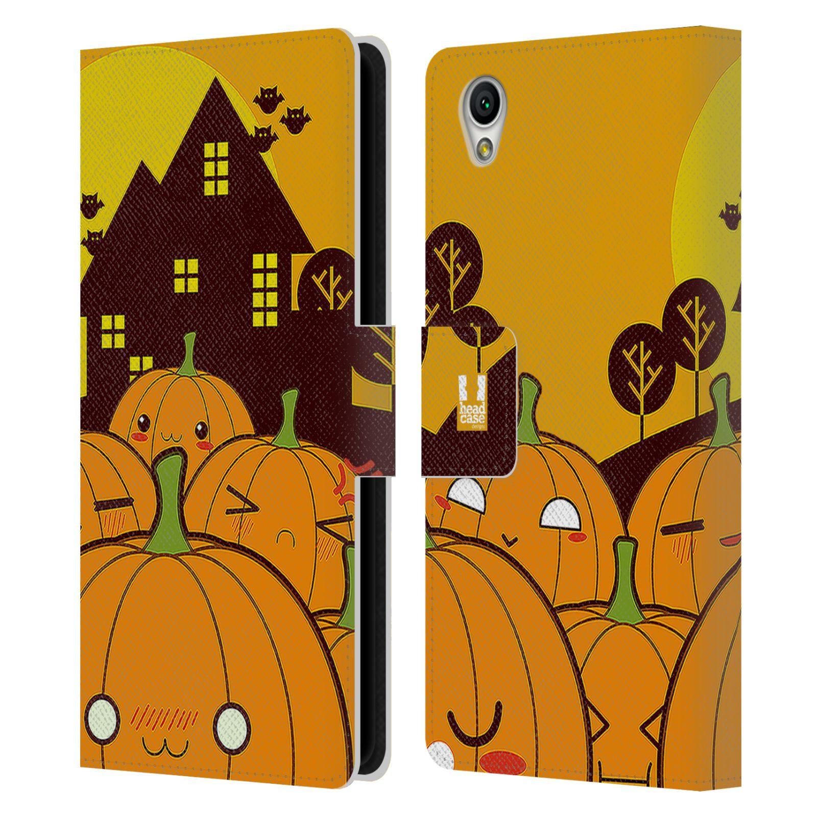 Pouzdro na mobil Sony Xperia L1 - Head Case - Halloween oživlé dýně