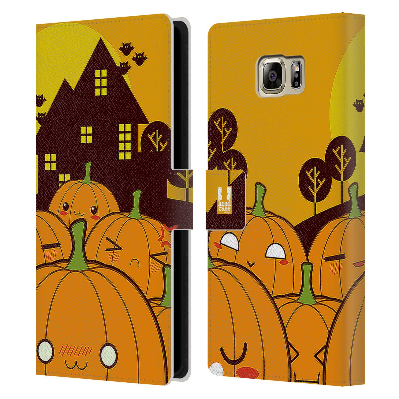 Pouzdro na mobil Samsung Galaxy NOTE 5 - Head Case - Halloween oživlé dýně