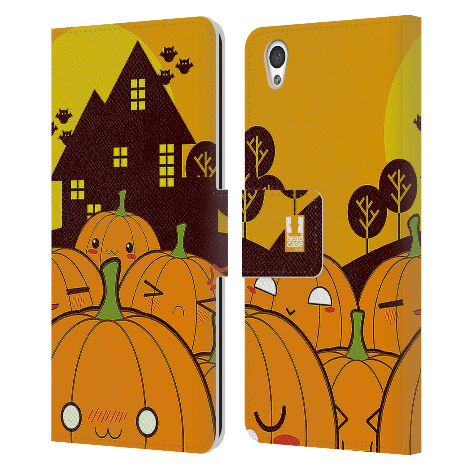Pouzdro na mobil OnePlus X - Head Case - Halloween oživlé dýně