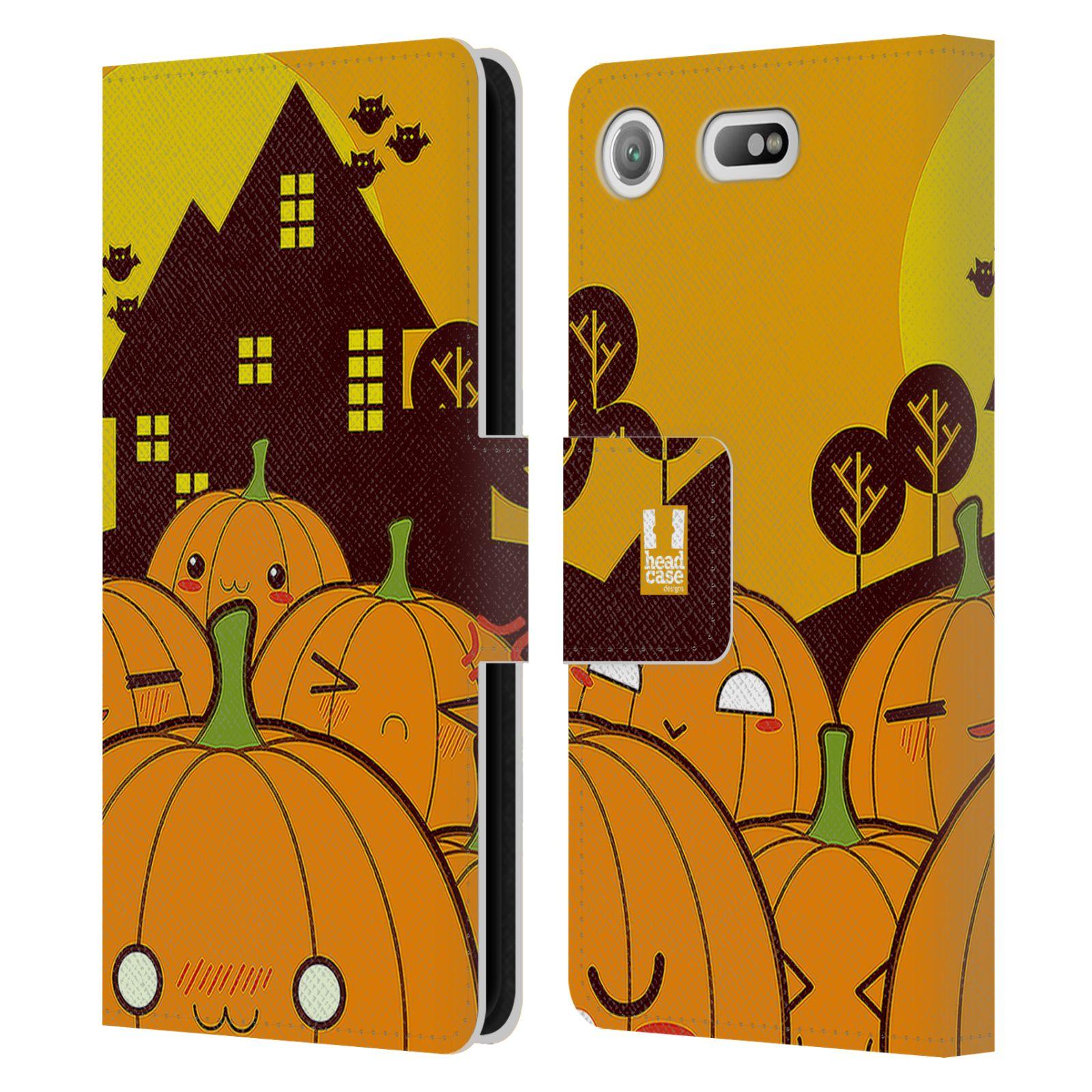 Pouzdro na mobil Sony Xperia XZ1 Compact - Head Case - Halloween oživlé dýně