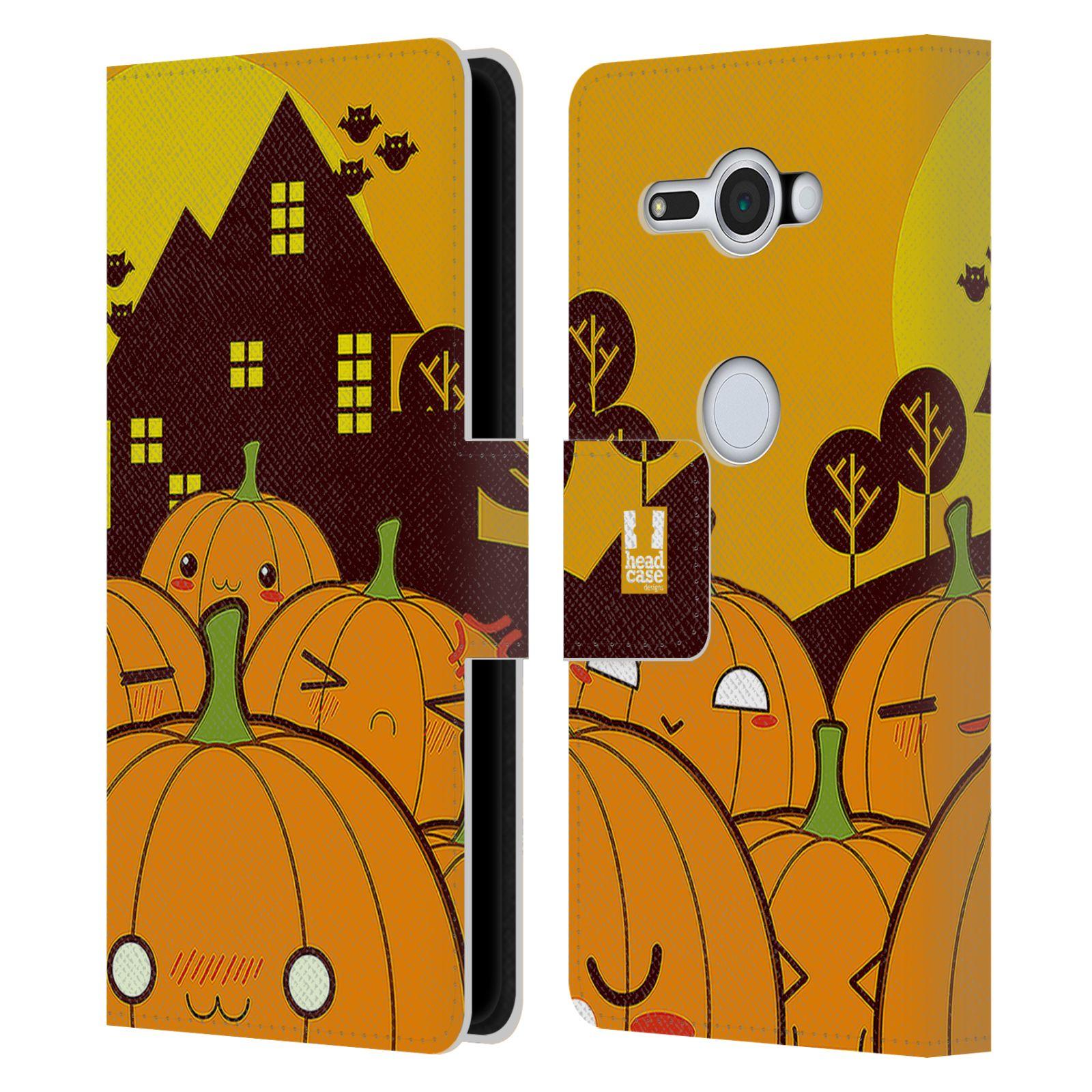 Pouzdro na mobil Sony Xperia XZ2 Compact - Head Case - Halloween oživlé dýně