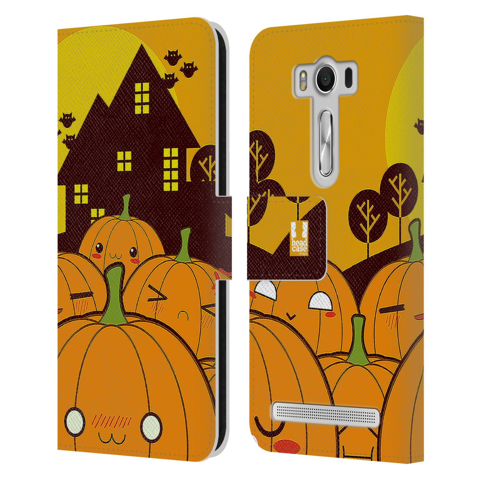 Pouzdro na mobil Asus Zenfone 2 Laser ZE500KL - Head Case - Halloween oživlé dýně