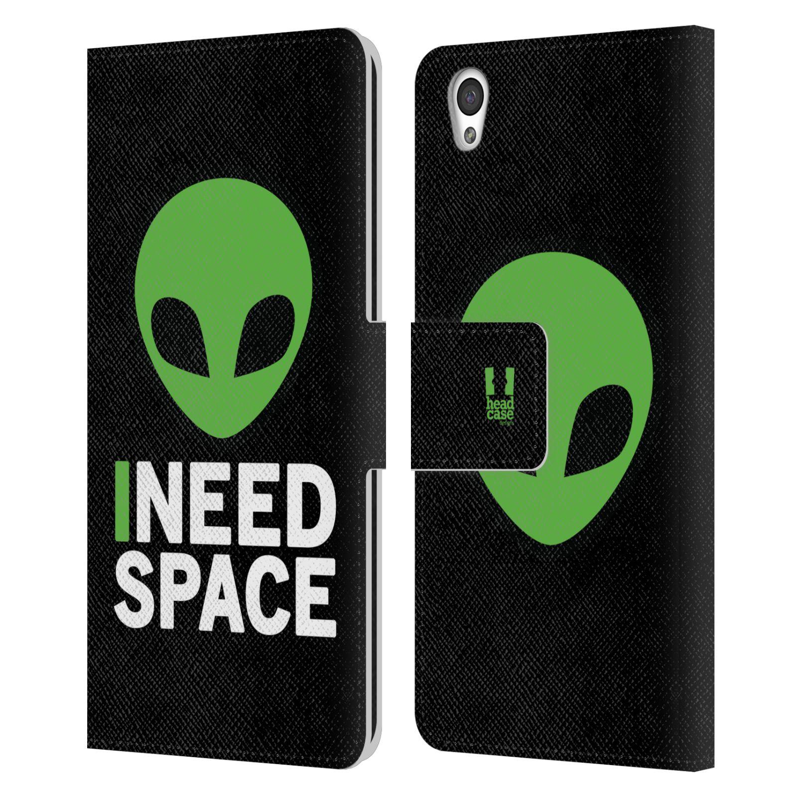 Pouzdro na mobil OnePlus X - Head Case - zelený mimozemšťan Ufoun