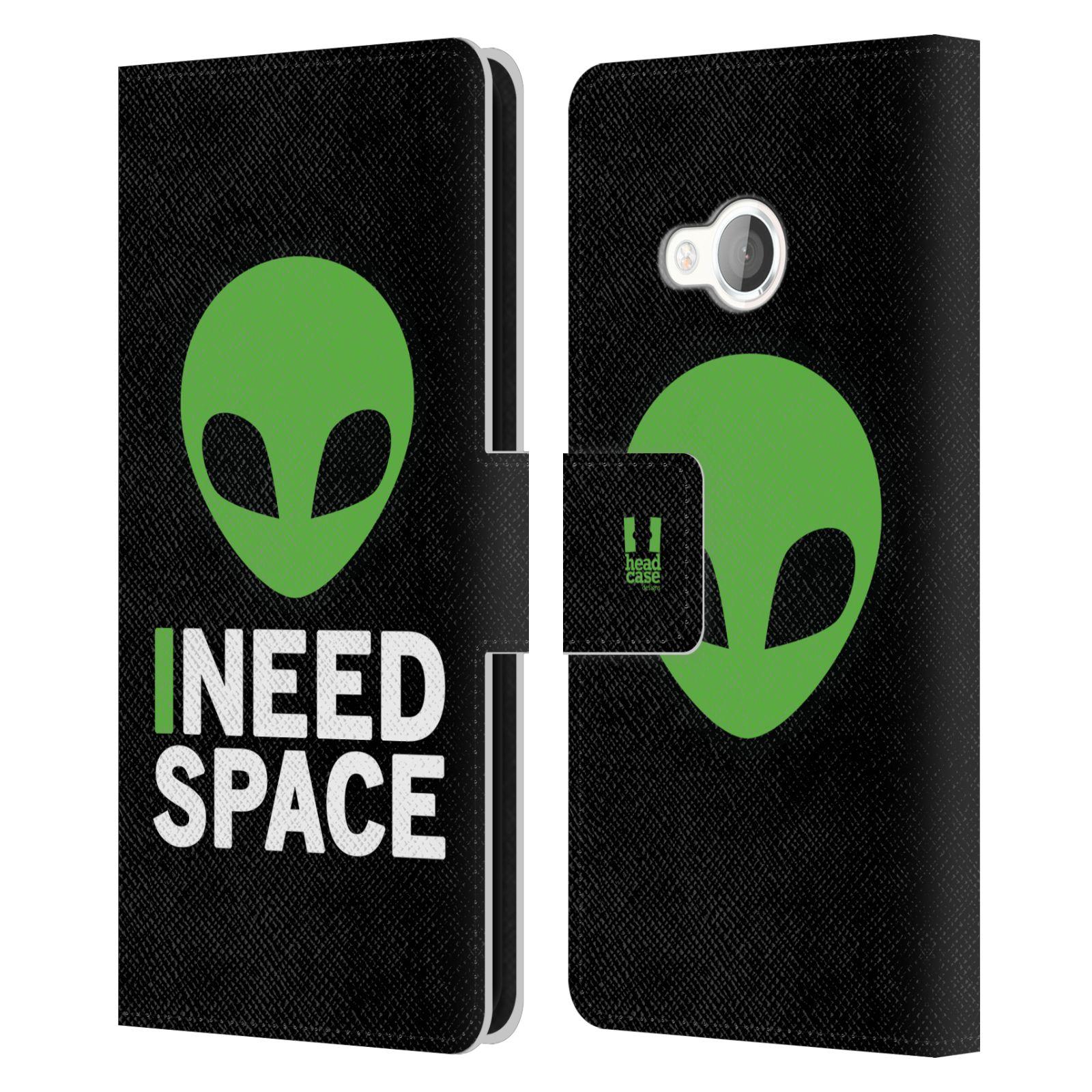 Pouzdro na mobil HTC U Play - Head Case - zelený mimozemšťan Ufoun
