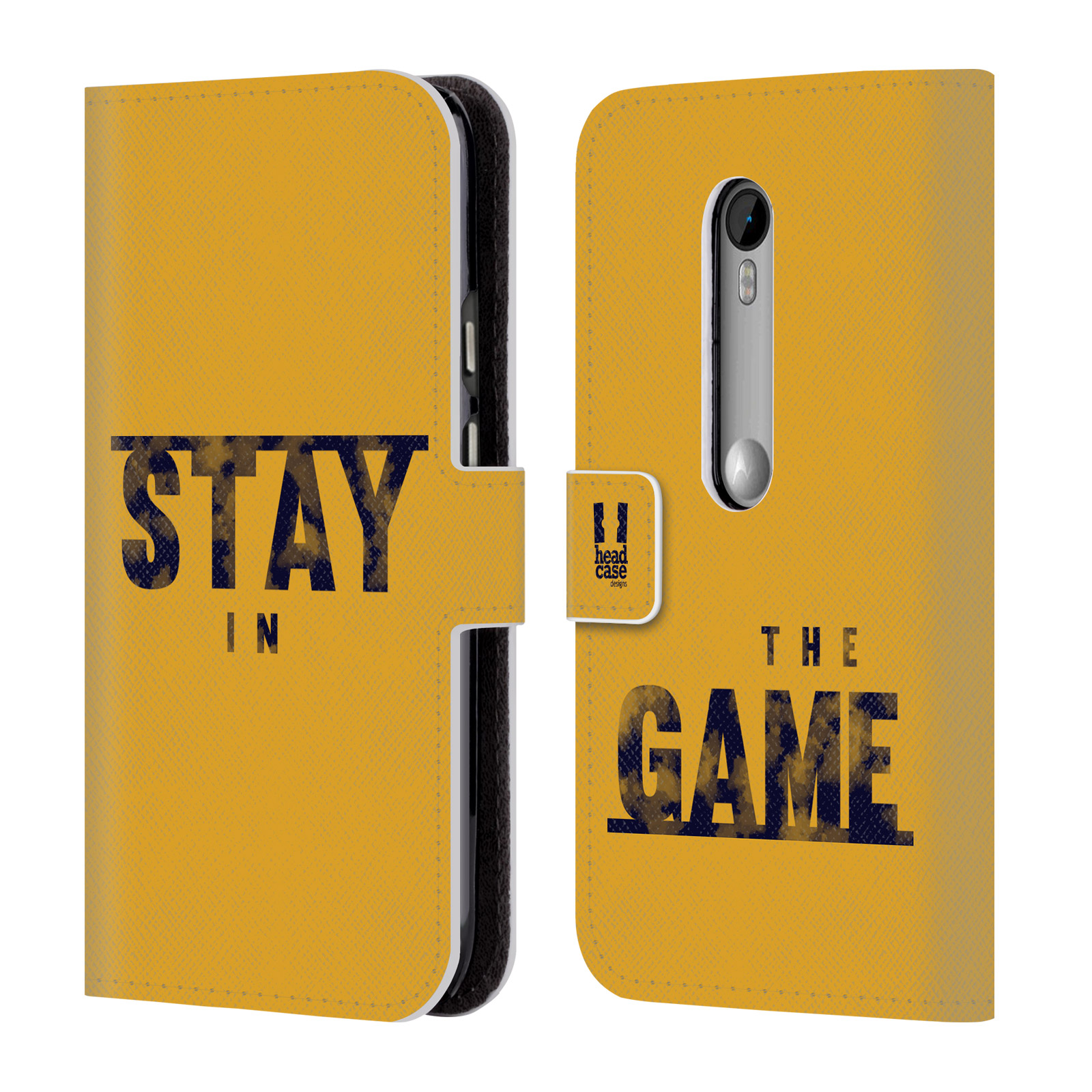 head case designs power statement leather book wallet case. Black Bedroom Furniture Sets. Home Design Ideas