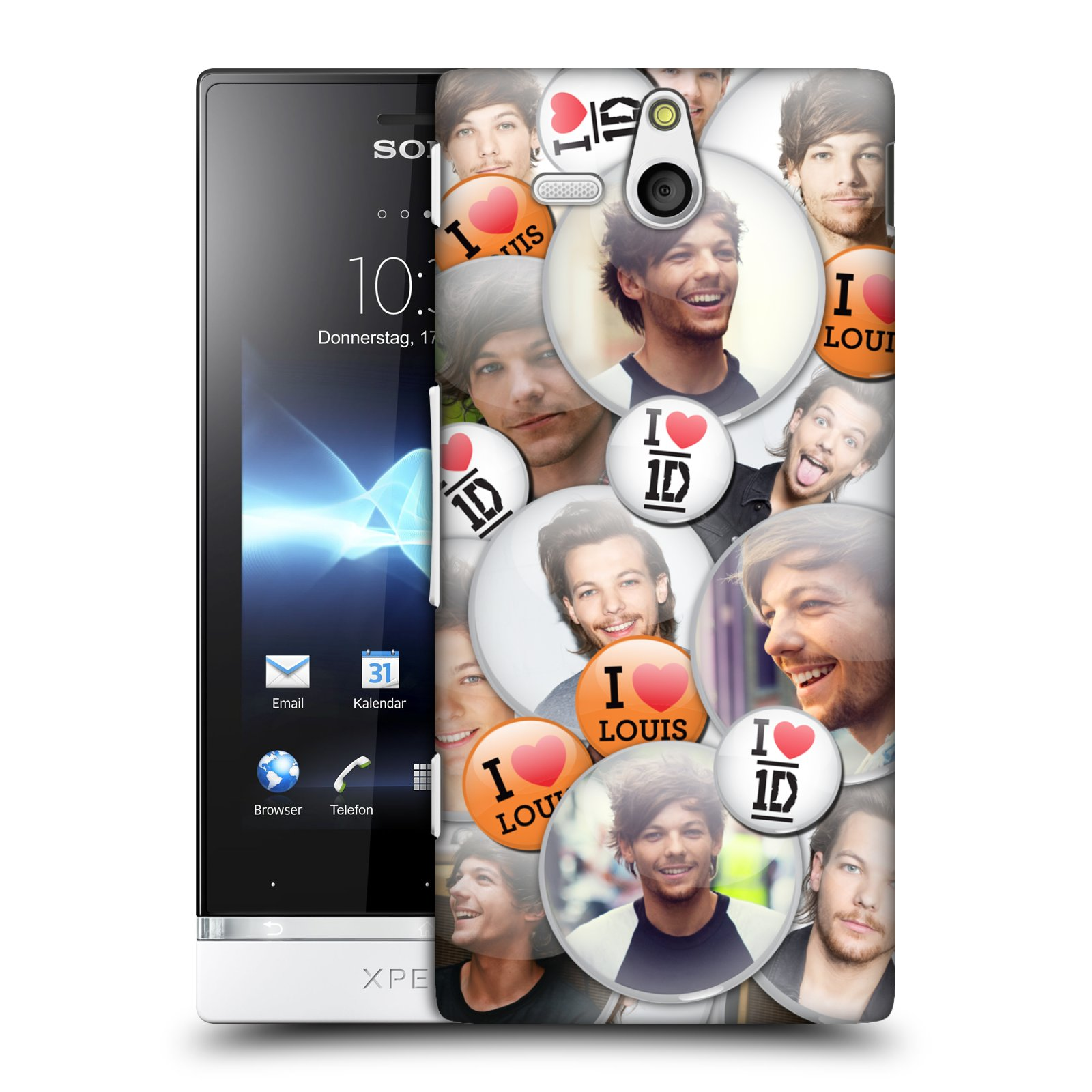 OFFICIAL-ONE-DIRECTION-1D-BUTTON-PINS-HARD-BACK-CASE-FOR-SONY-PHONES-3
