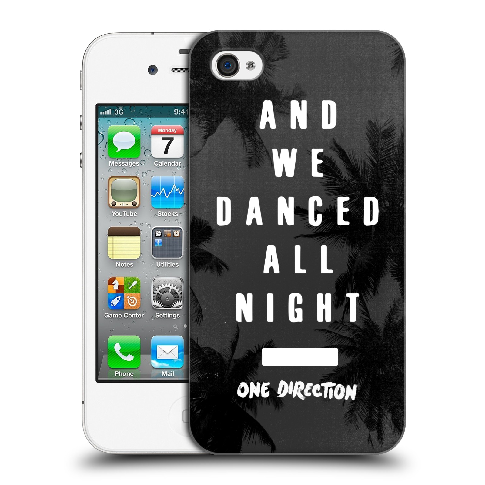 Ufficiale-One-Direction-1D-danced-all-night-HARD-BACK-CASE-per-APPLE-IPHONE-4S