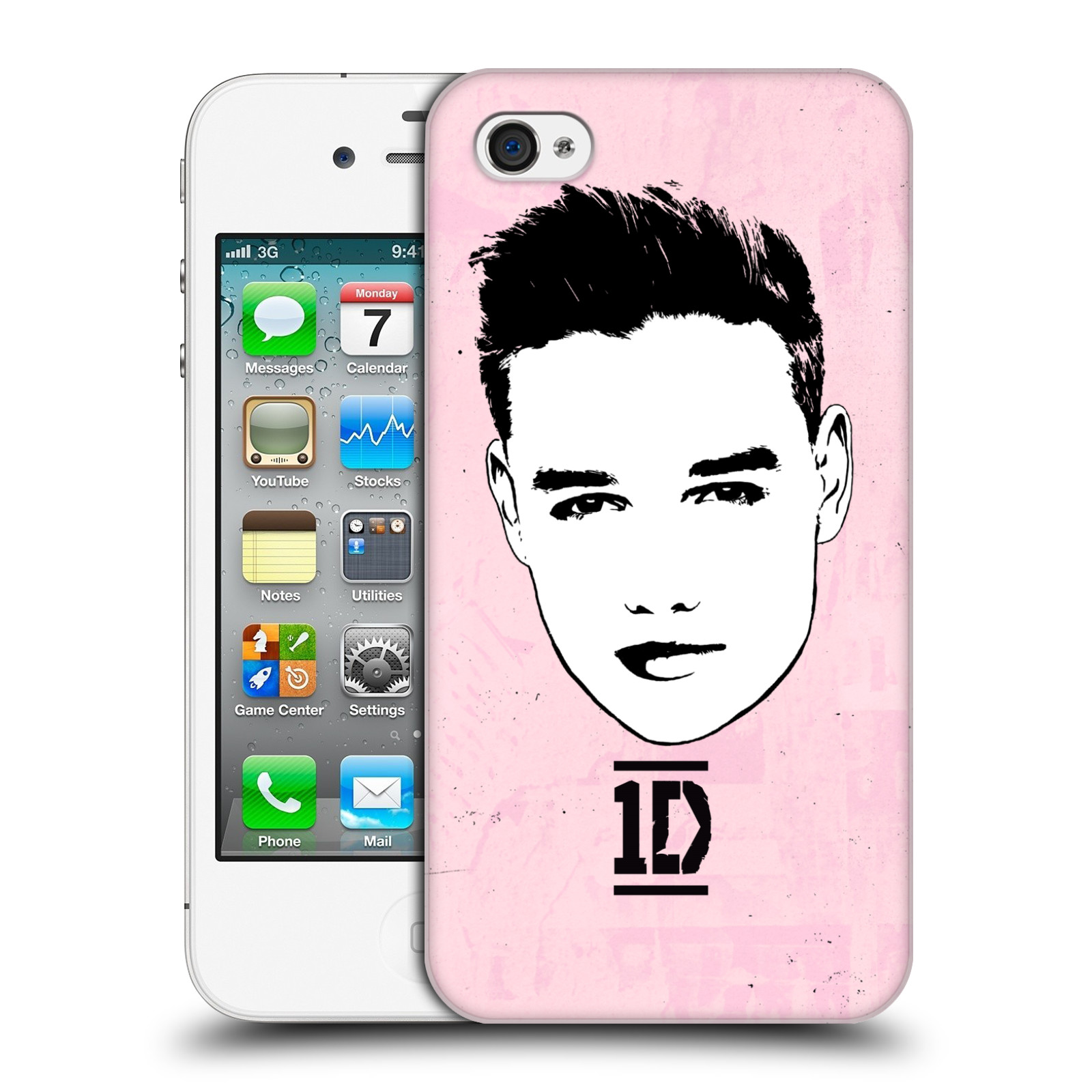 Ufficiale-One-Direction-1D-GRAPHIC-facce-Liam-HARD-BACK-CASE-per-APPLE-IPHONE-4S